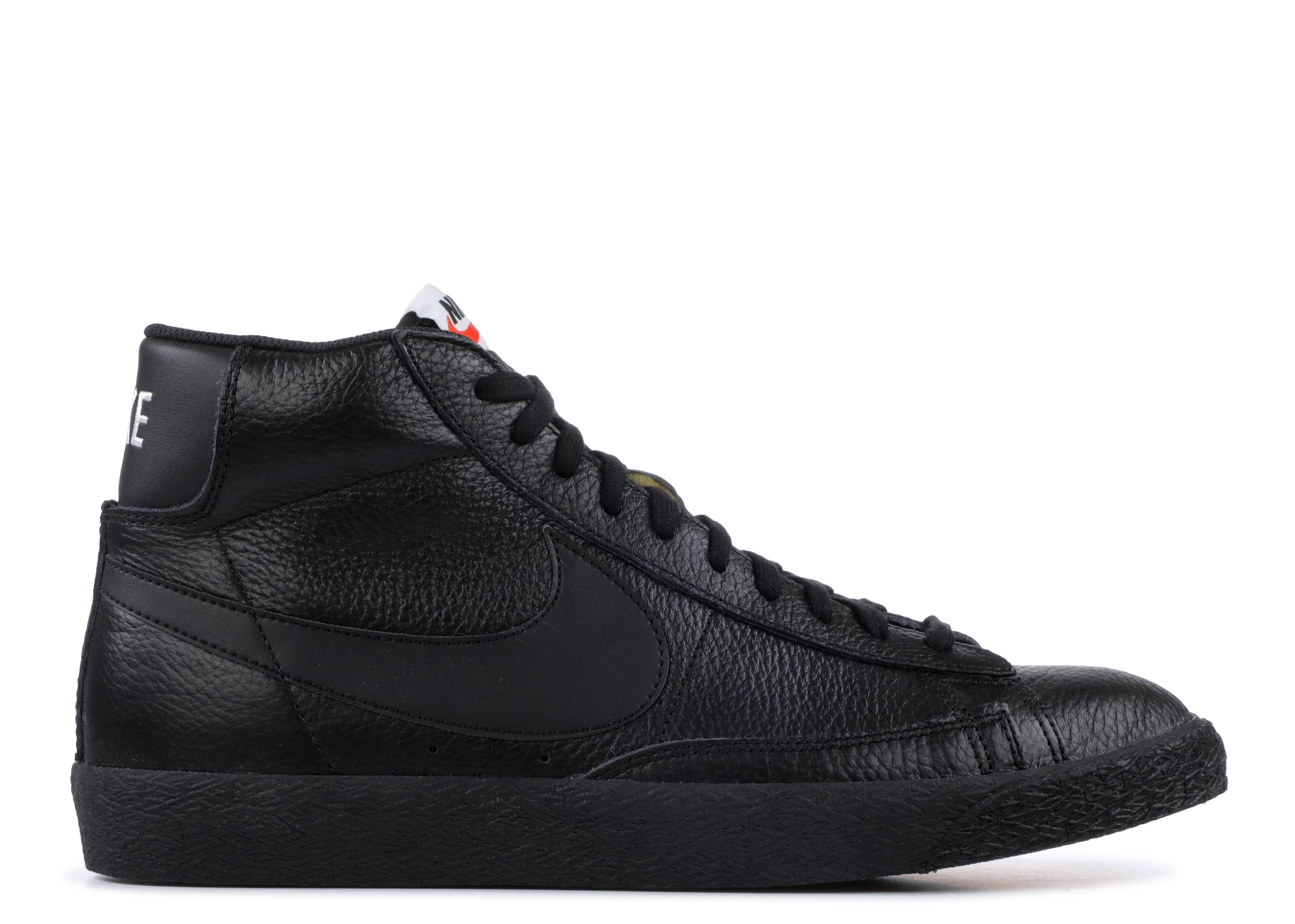 Blazer Nike Mid Prm Nike Blazer 429988 007 Noir Noir Blanc Flight Club 3b0252