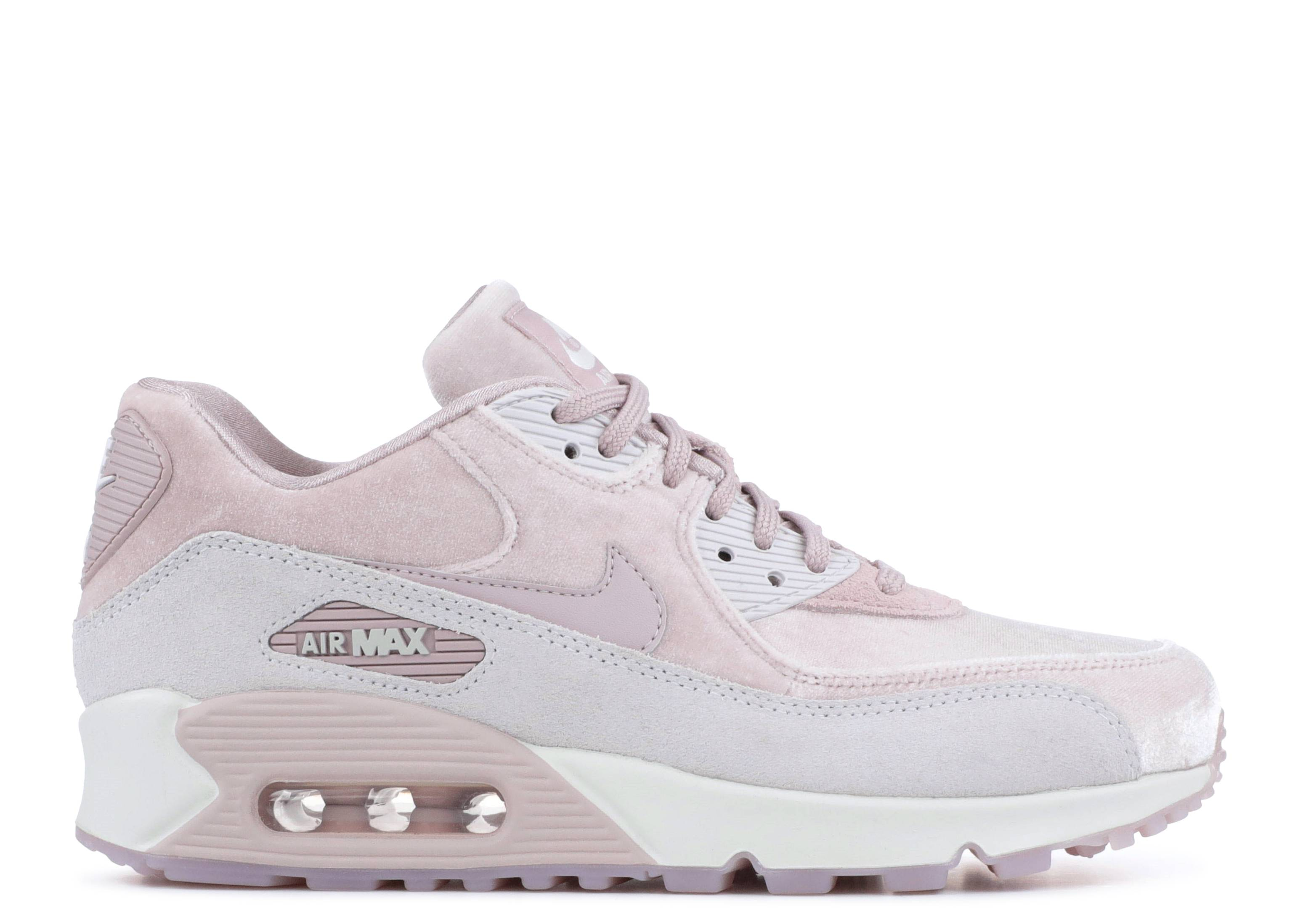 WOMEN'S NIKE AIR MAX 90 LX SHOES PARTICLE ROSE 898512 600