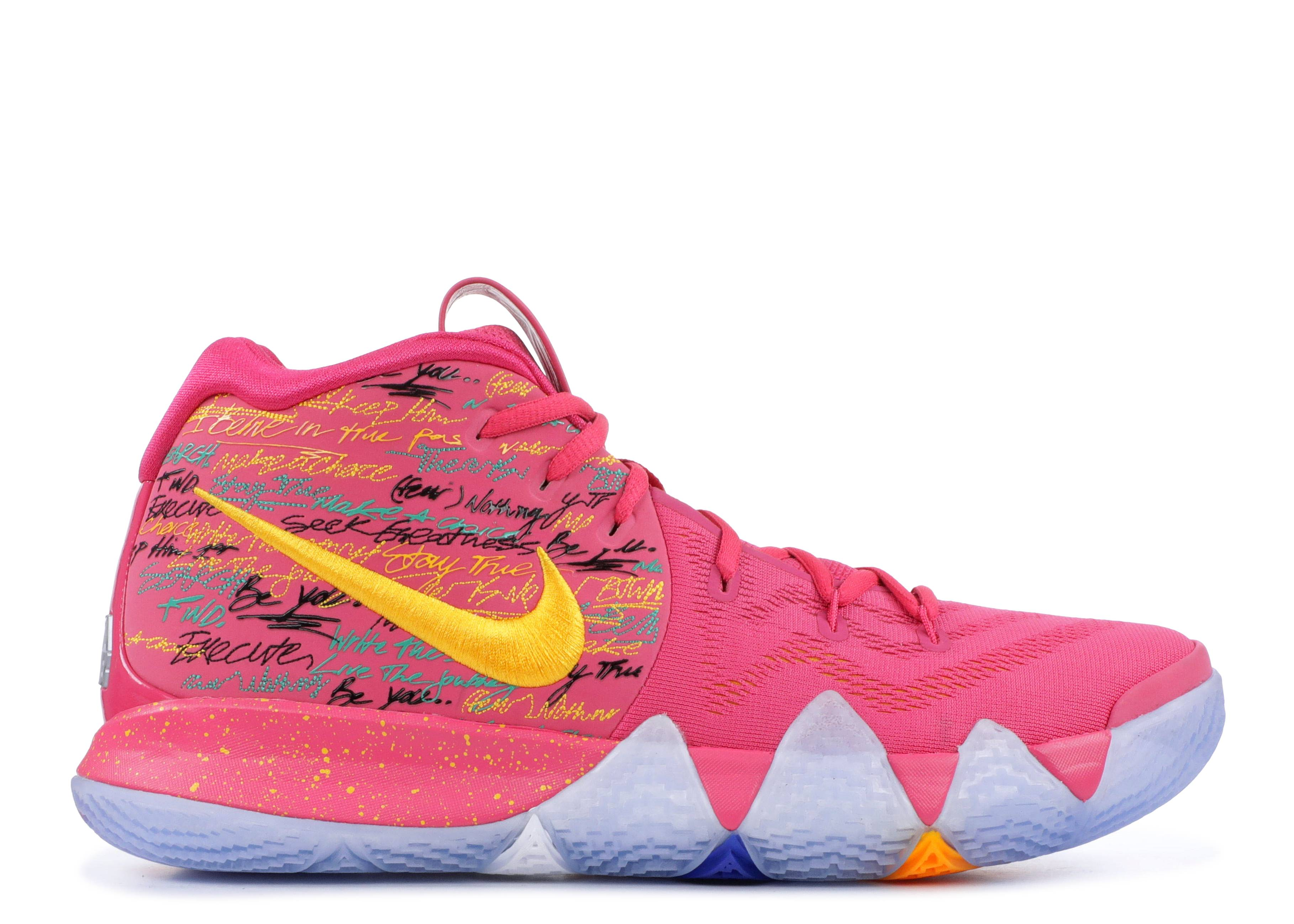 separation shoes d4434 8044b ... italy shopping kyrie 4 nba 2k18 friends and family nike 860844 868  watermelon uni gold ice