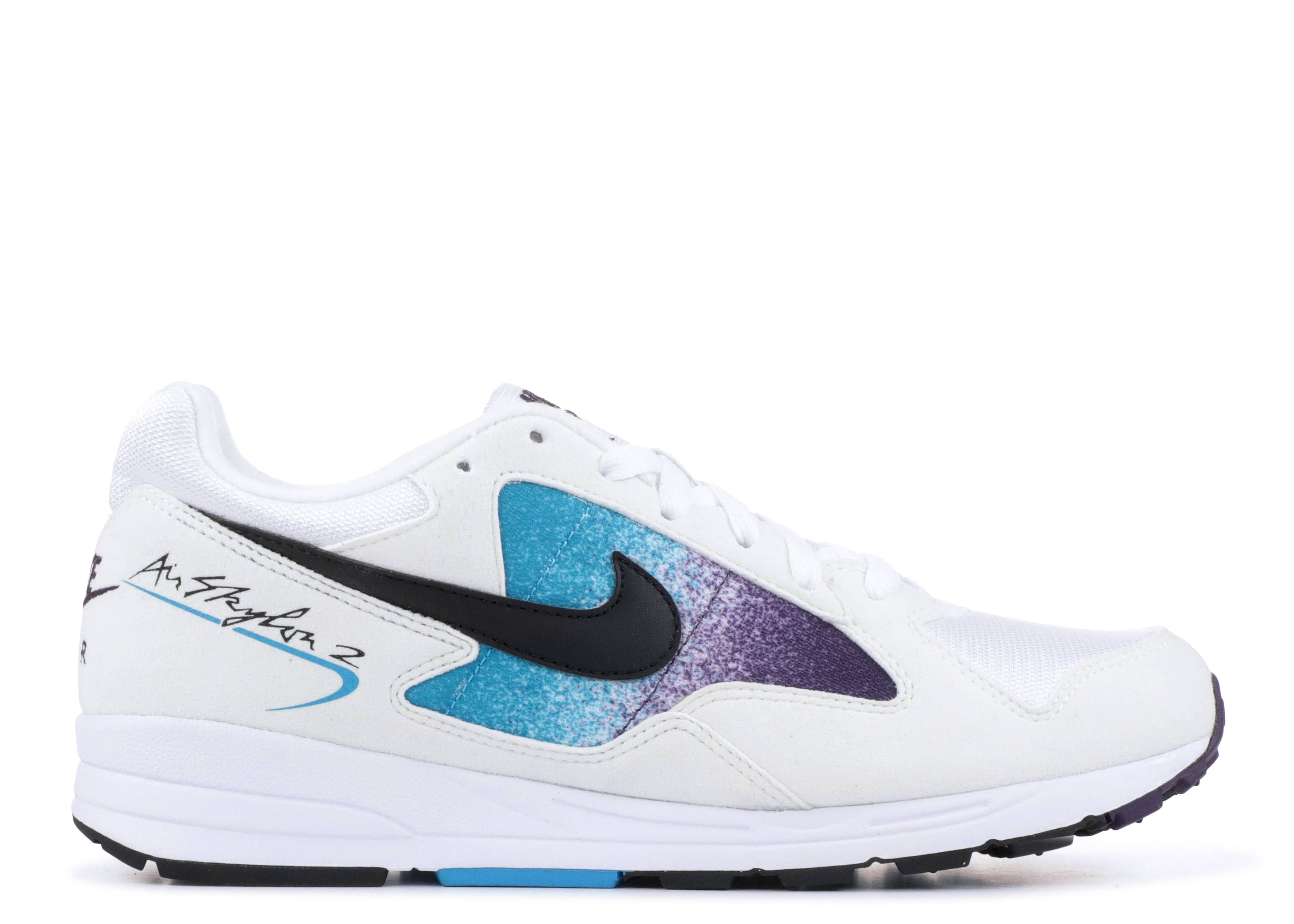 89b473d78def Nike Air Skylon II - Nike - AO1551 100 - white black-blue lagoon ...