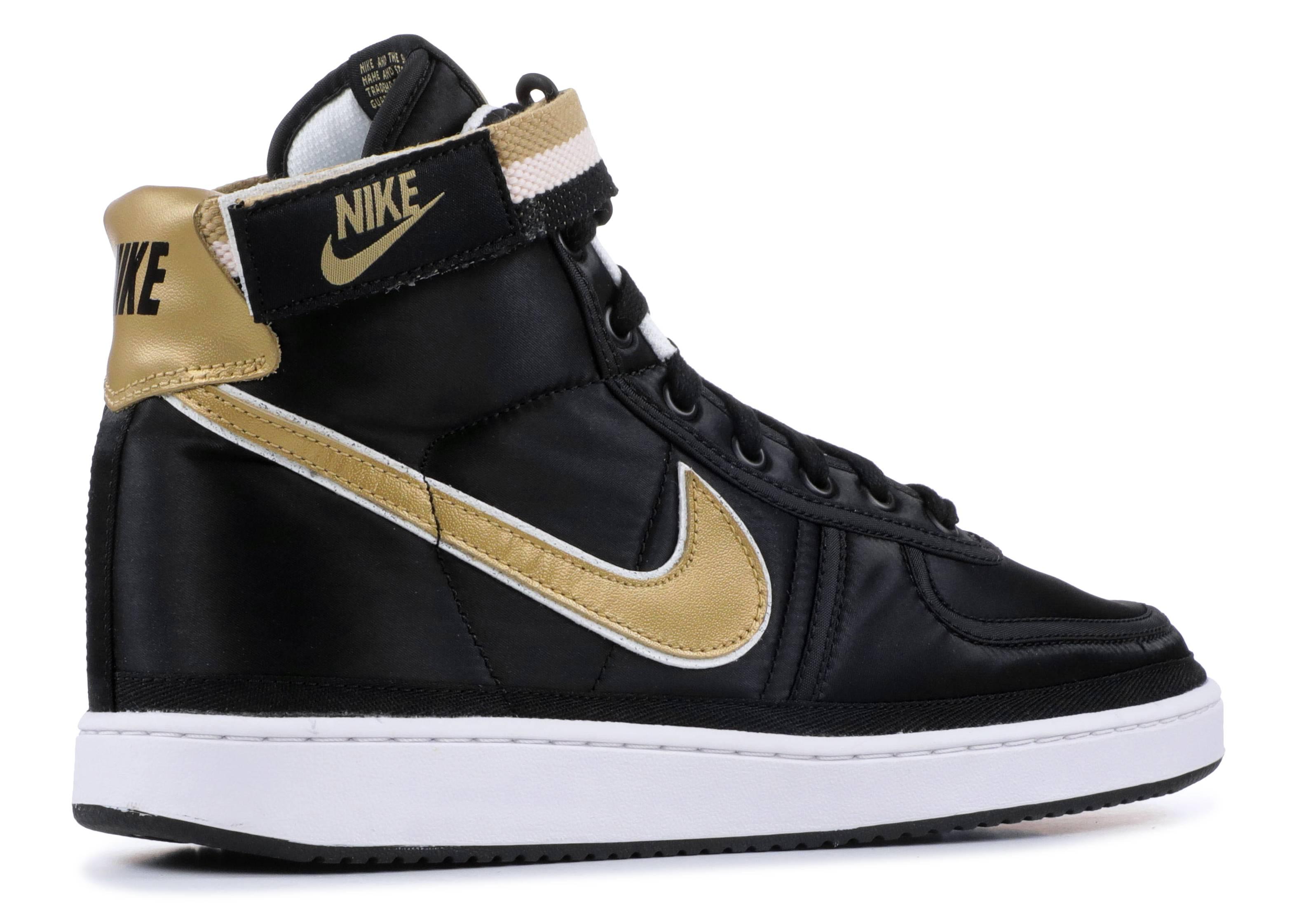 7e106a6b37a20a Nike Vandal High Supreme QS - Nike - AH8652 002 - black metallic gold-white