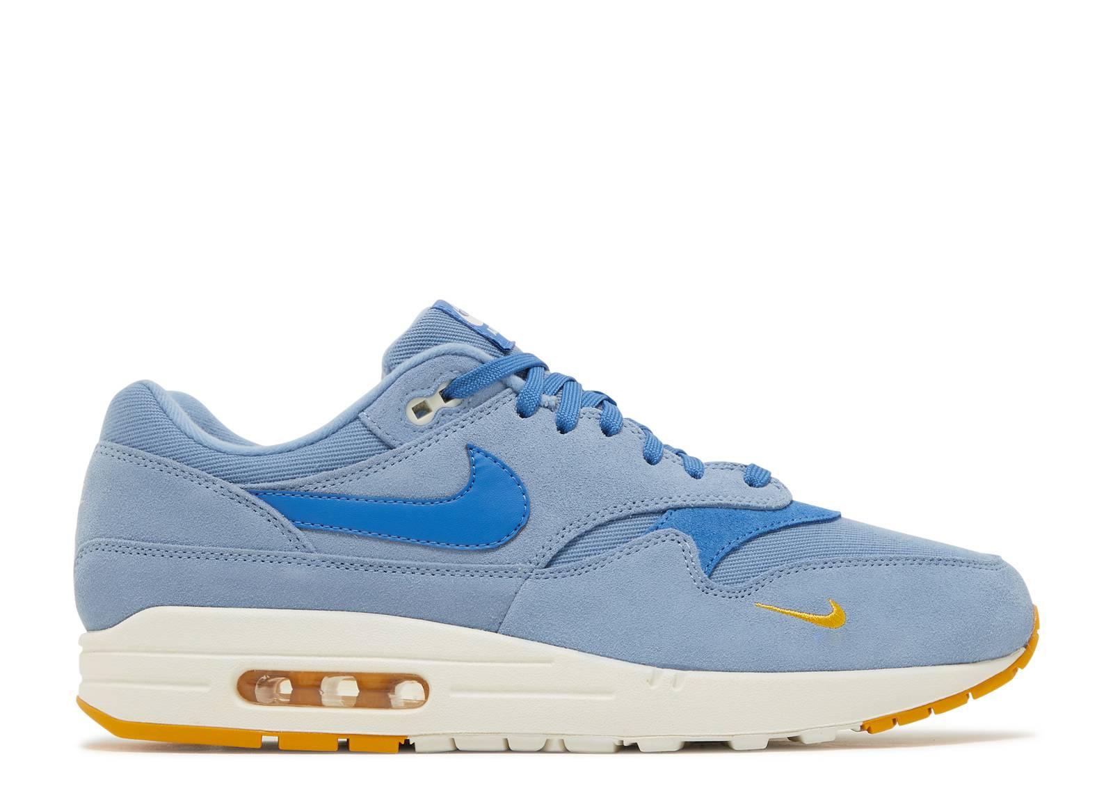 Nike Air Max 1 Premium Work Blue Mountain Blue | Footshop
