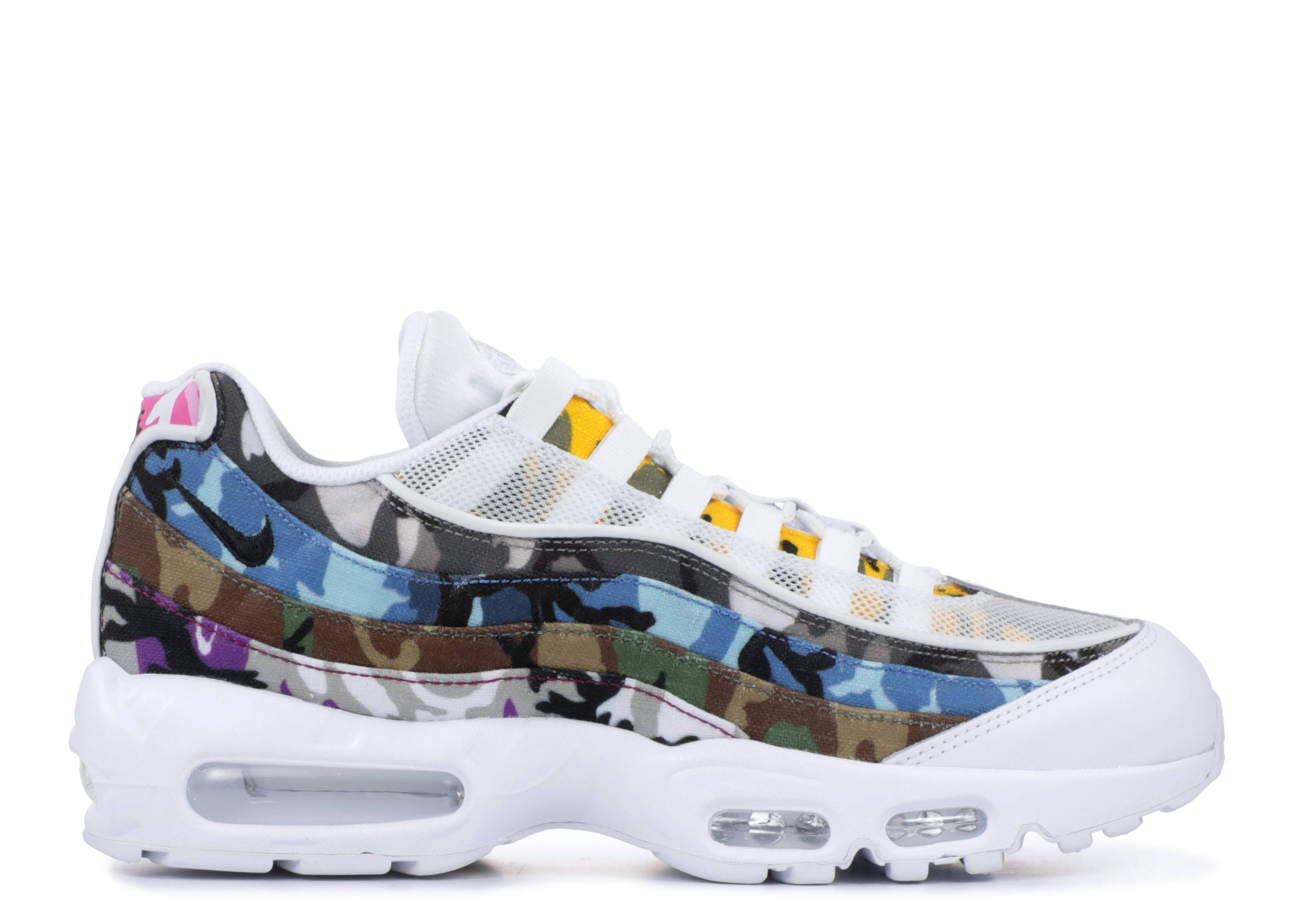Fatídico Lijadoras falta de aliento  Air Max 95 'ERDL Party' - Nike - AR4473 100 - white/multi-color | Flight  Club
