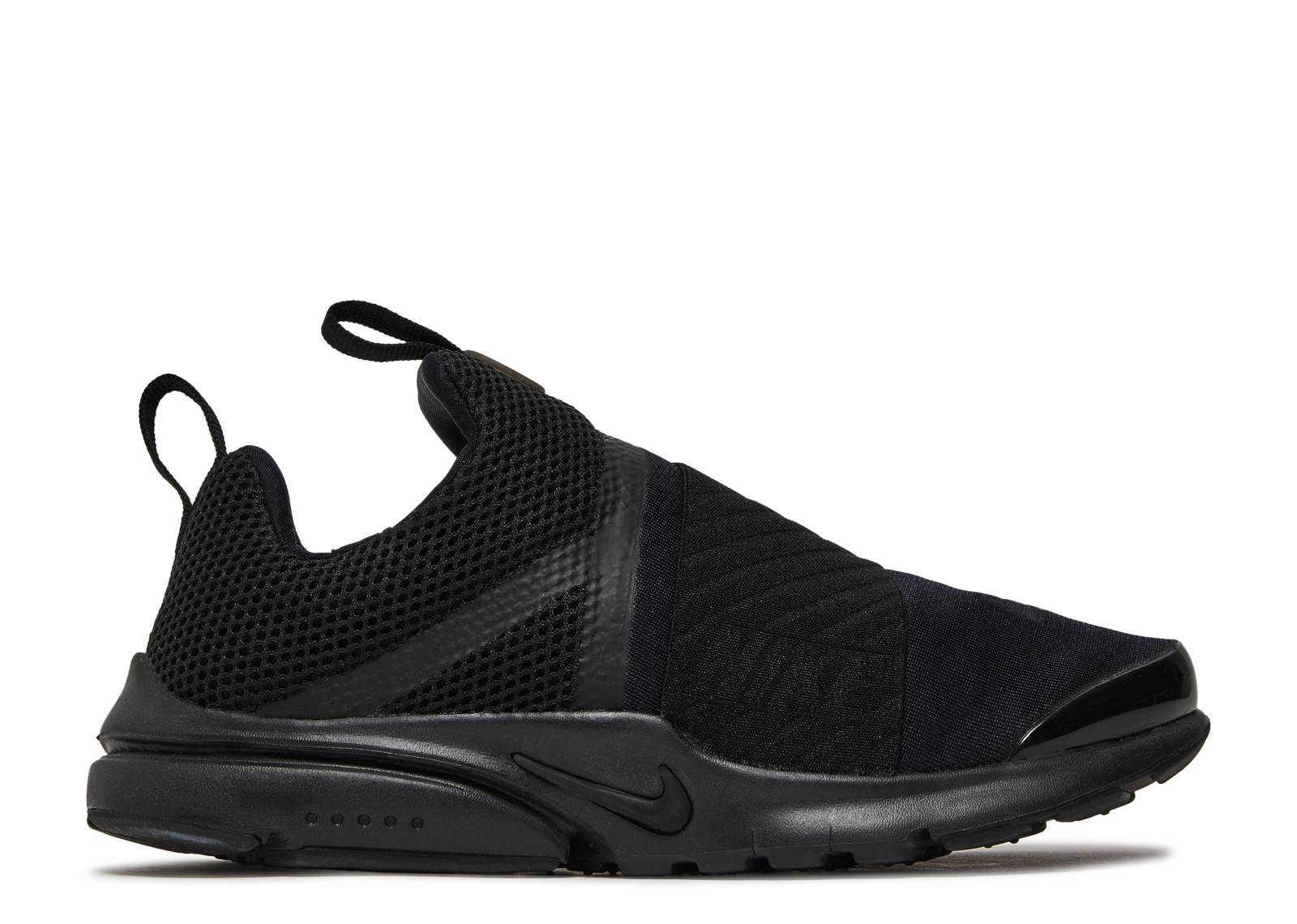 "nike presto extreme (gs) ""Triple Black"""