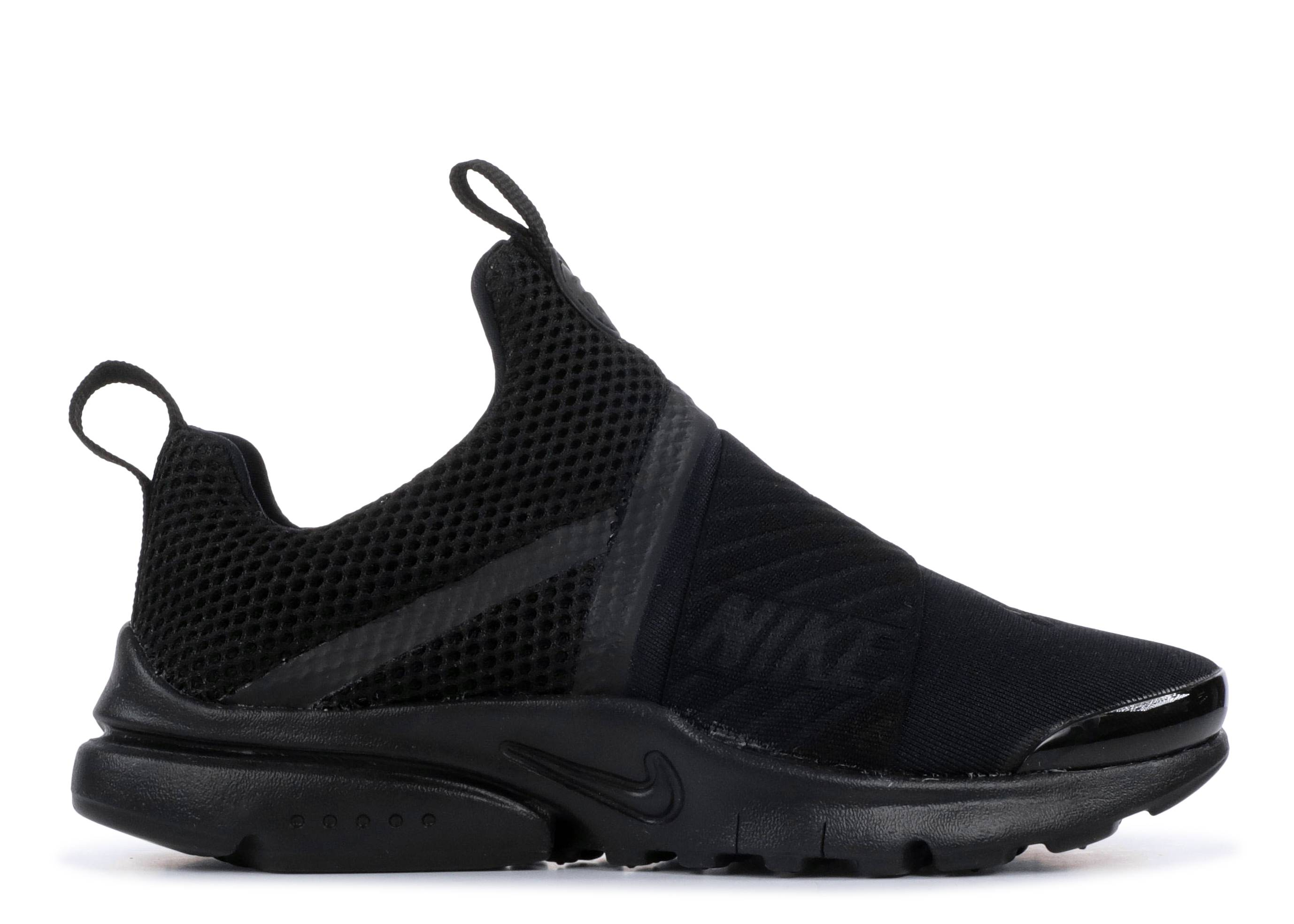 "nike presto extreme (ps) ""triple black"""