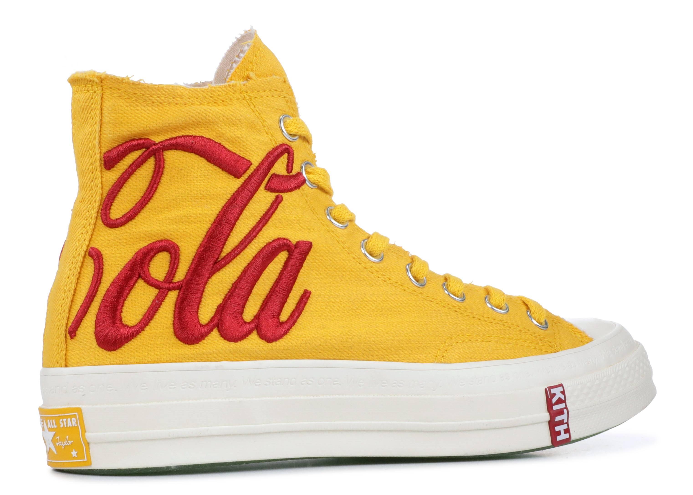 a6f6fbc764a Converse Chuck Taylor All-Star 70s Hi Kith X Coca Cola