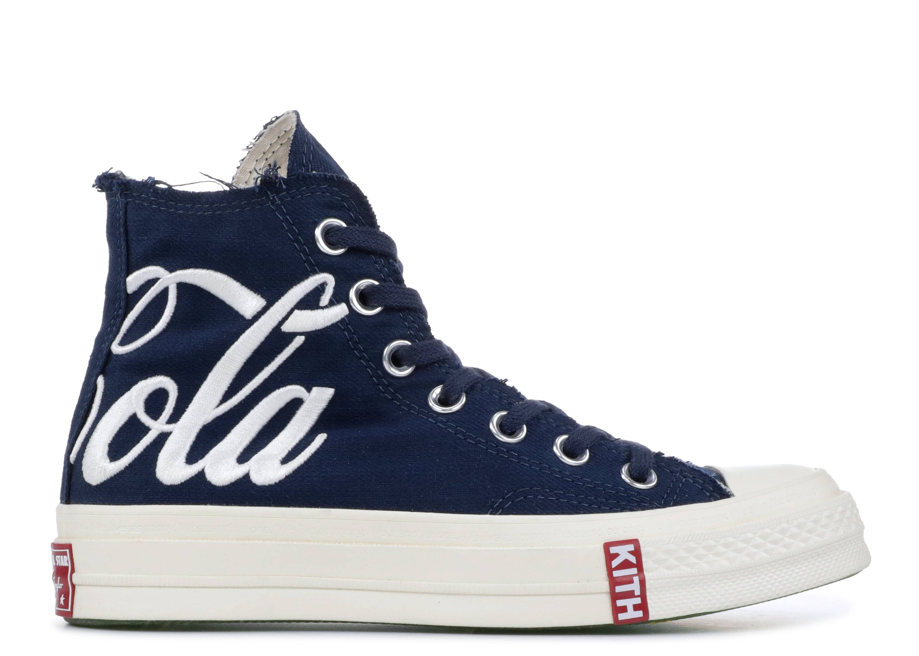 "converse chuck taylor all-star 70s hi kith x coca cola ""france"""