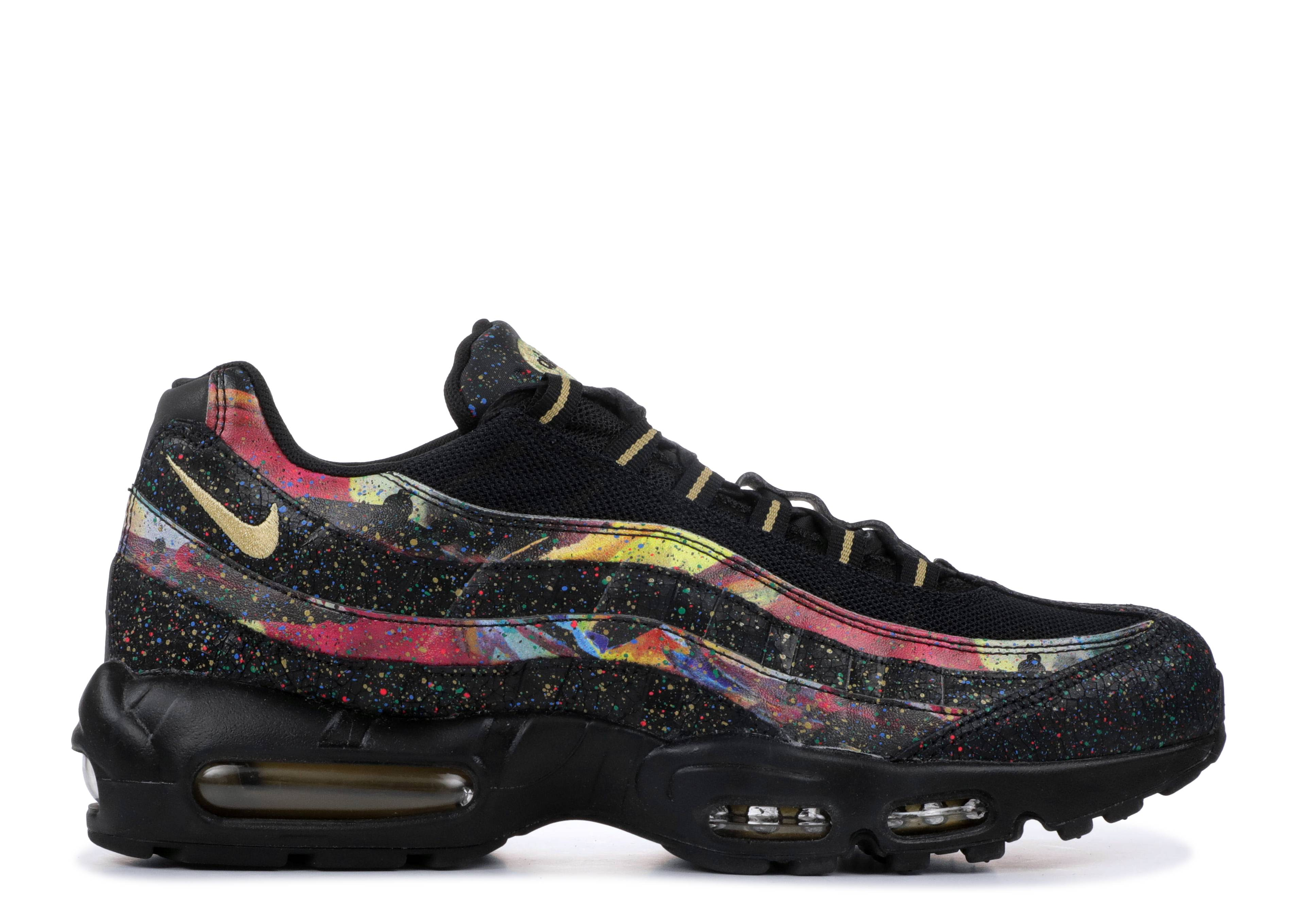 best sneakers 76024 5bbb0 Nike Air Max 95 - Nike - at6142 001 - black metallic gold   Flight Club