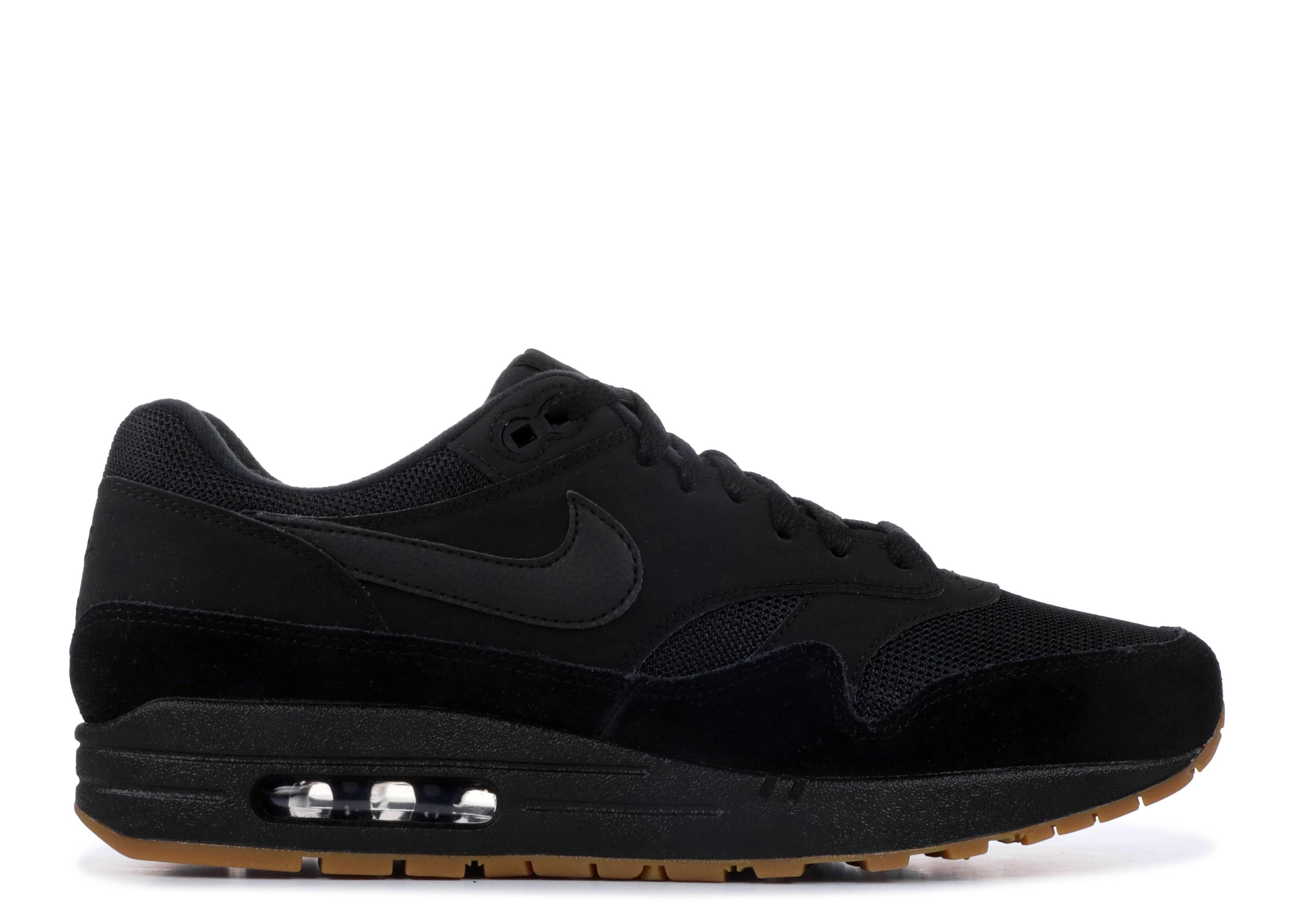 33199b91e4 Nike Air Max 1 - Nike - ah8145 007 - black/black-black   Flight Club