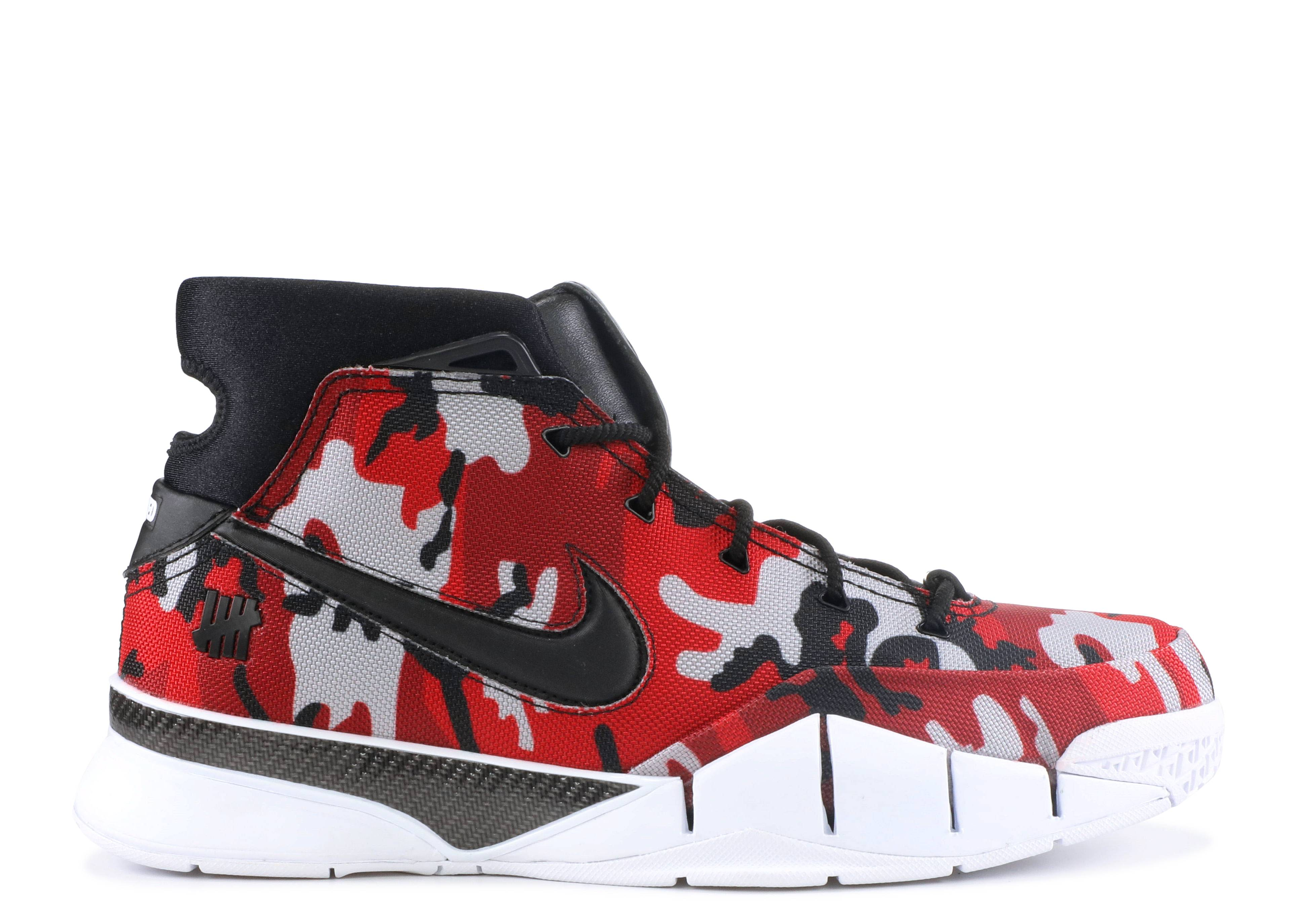 "Kobe 1 Protro Undefeated Red Camo ""Santa Monica"""
