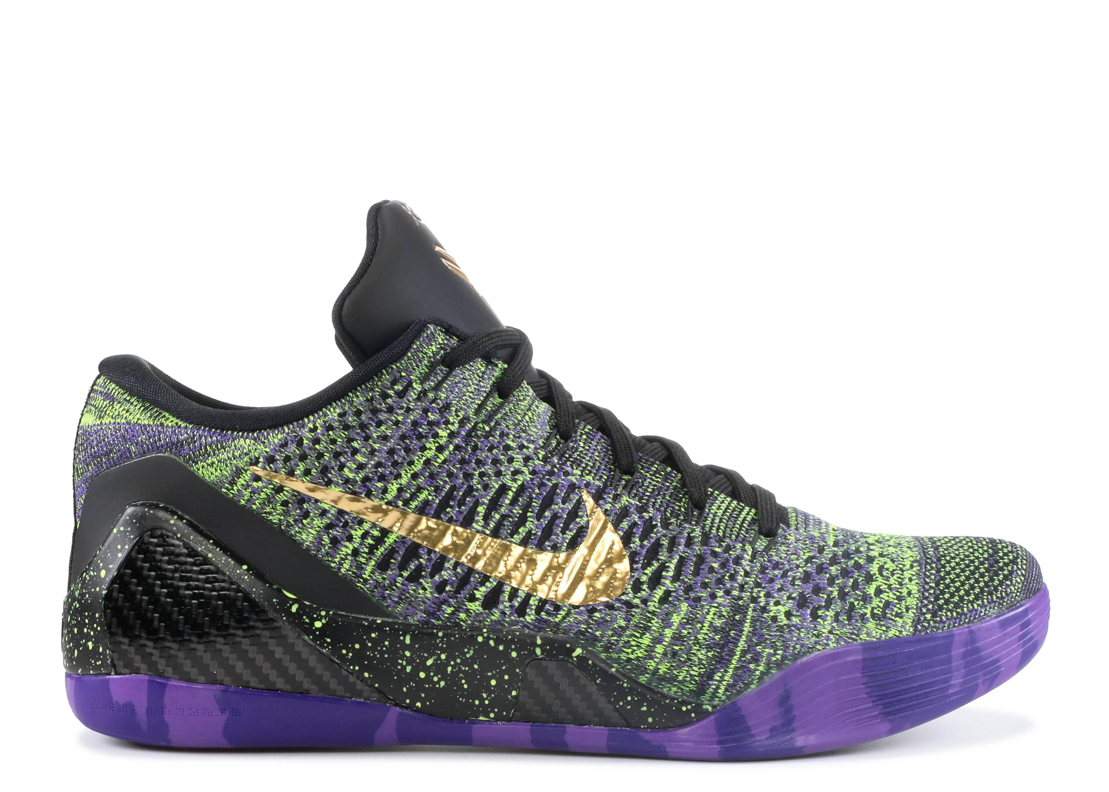 "Kobe 9 Elite Low iD ""Mamba Moment"""