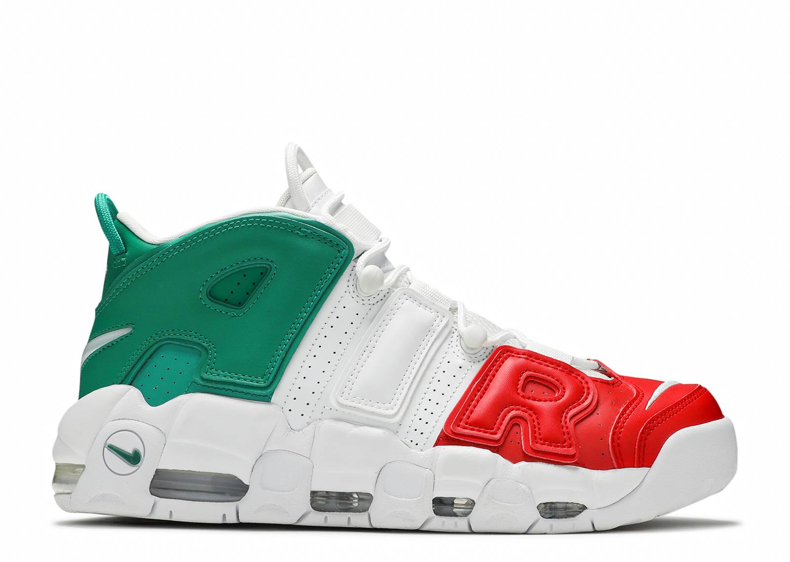50c18789ea Air More Uptempo '96 Italy Qs - Nike - av3811 600 - university red ...