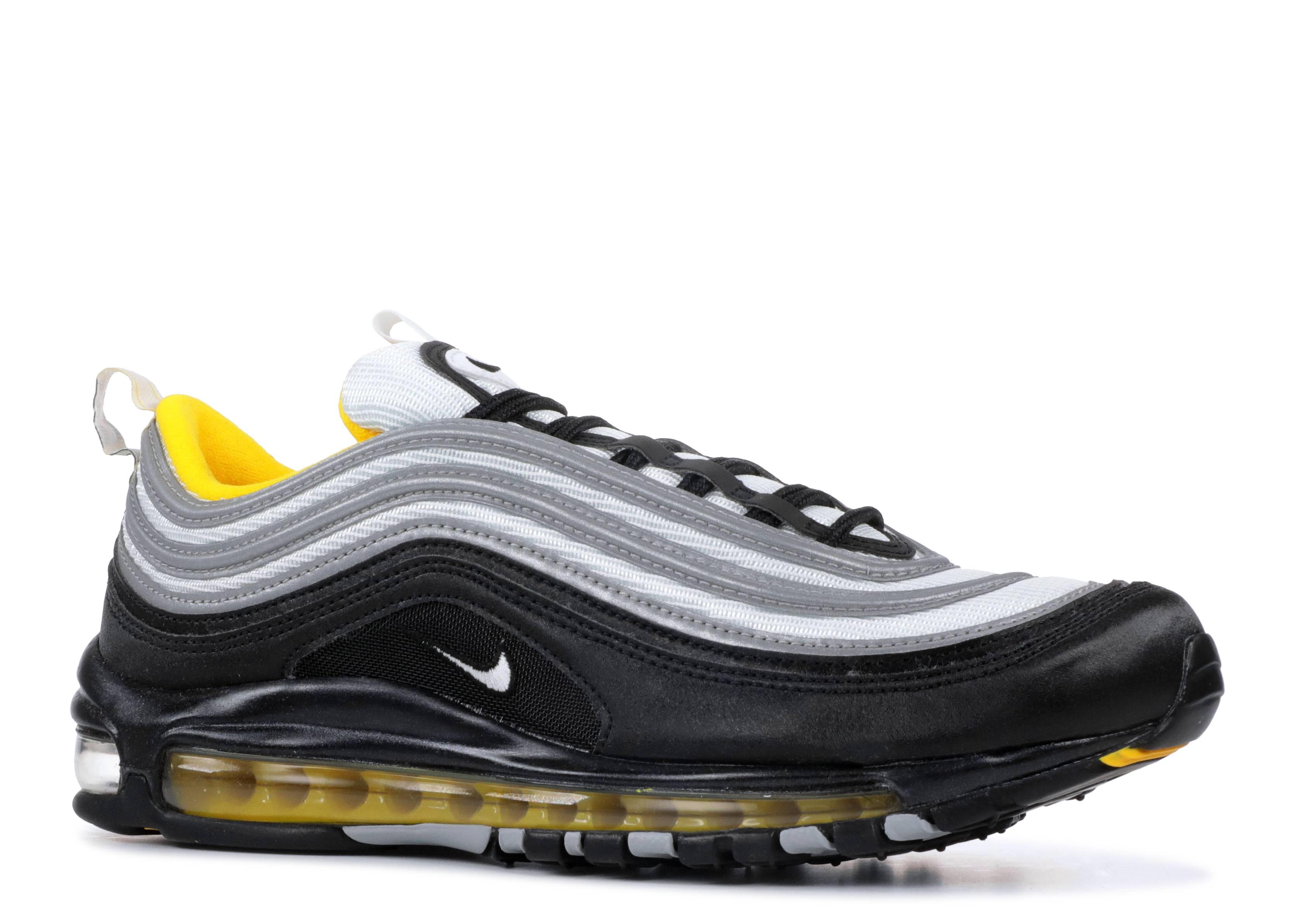 6c7833f5080bb Nike Air Max 97 - Nike - 921826 008 - black/white-amarillo | Flight Club