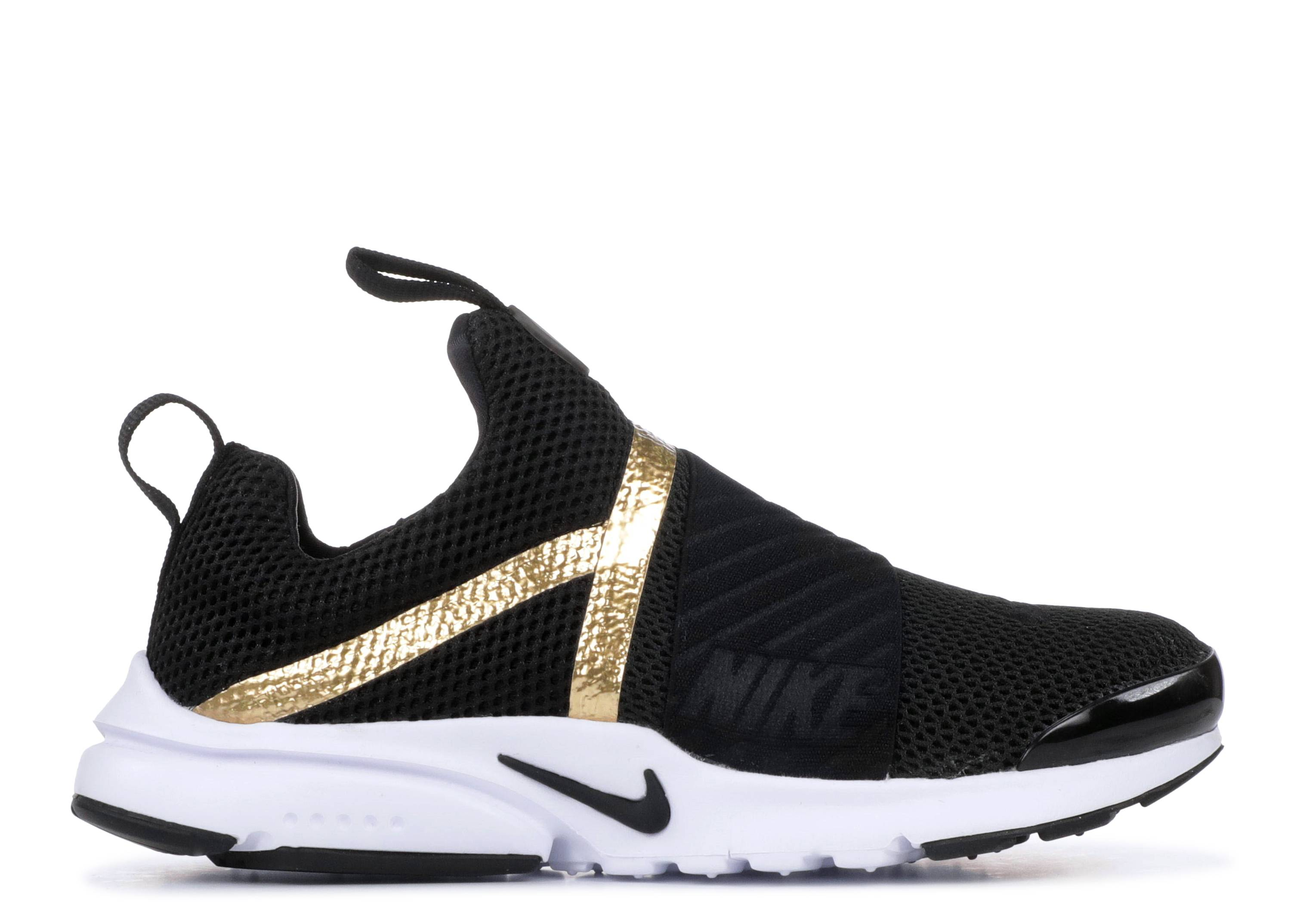 "nike air presto extreme (gs) ""Metallic Gold"""