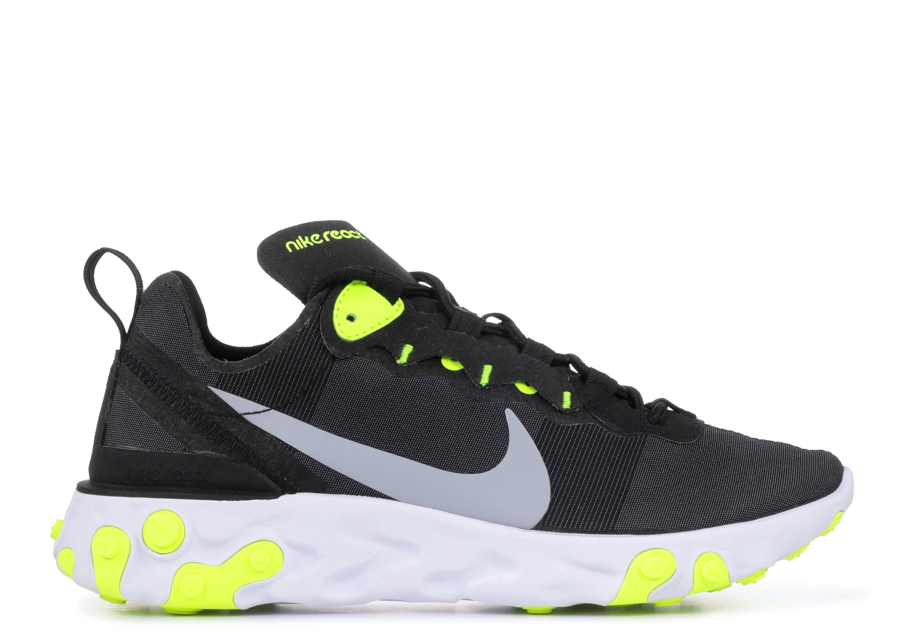 "Wmns React Element 55 'Black Volt' ""Black Volt"""