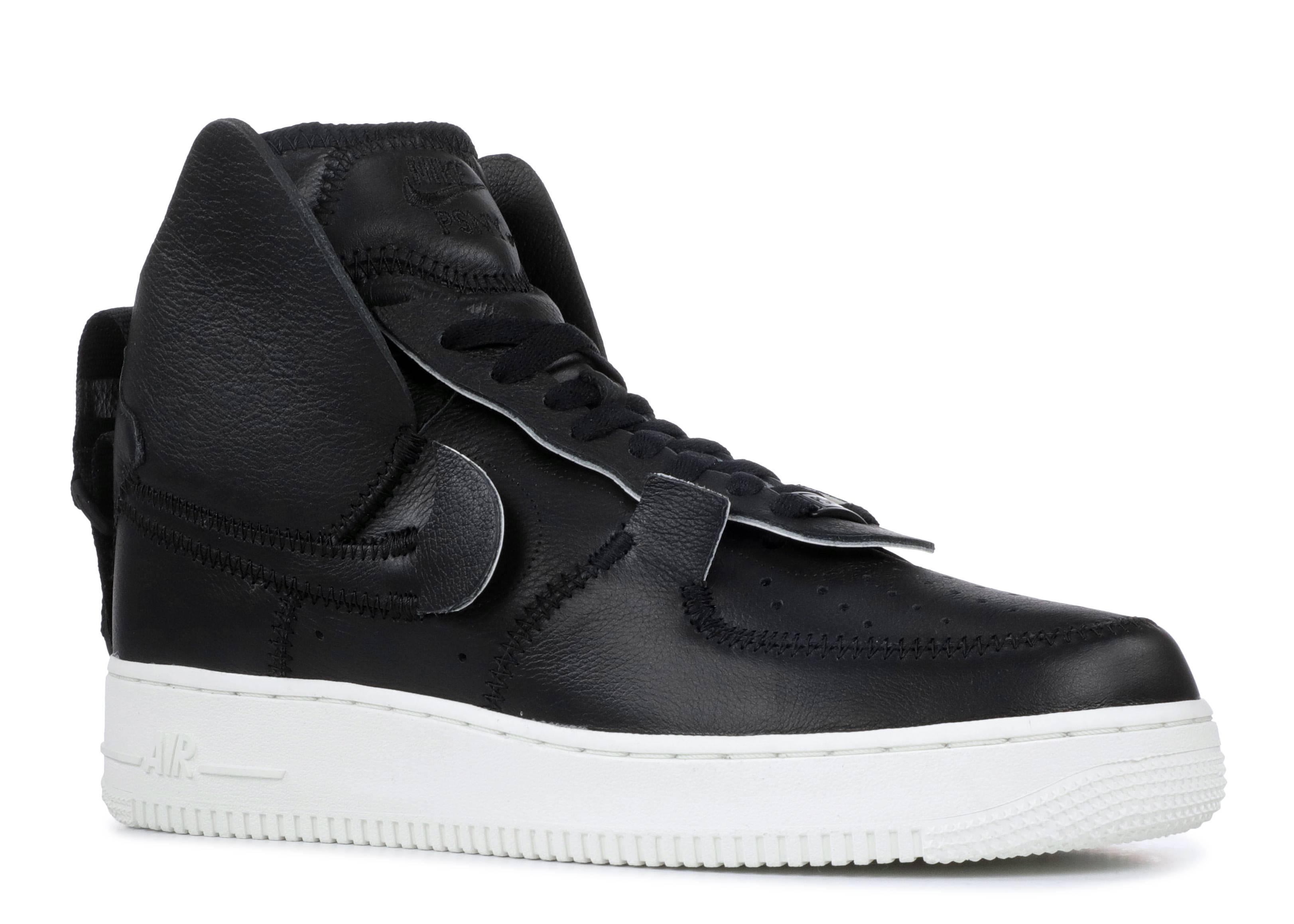 newest d7aa9 a877e Air Force 1 High PSNY - Nike - ao9292 002 - black black sail   Flight Club