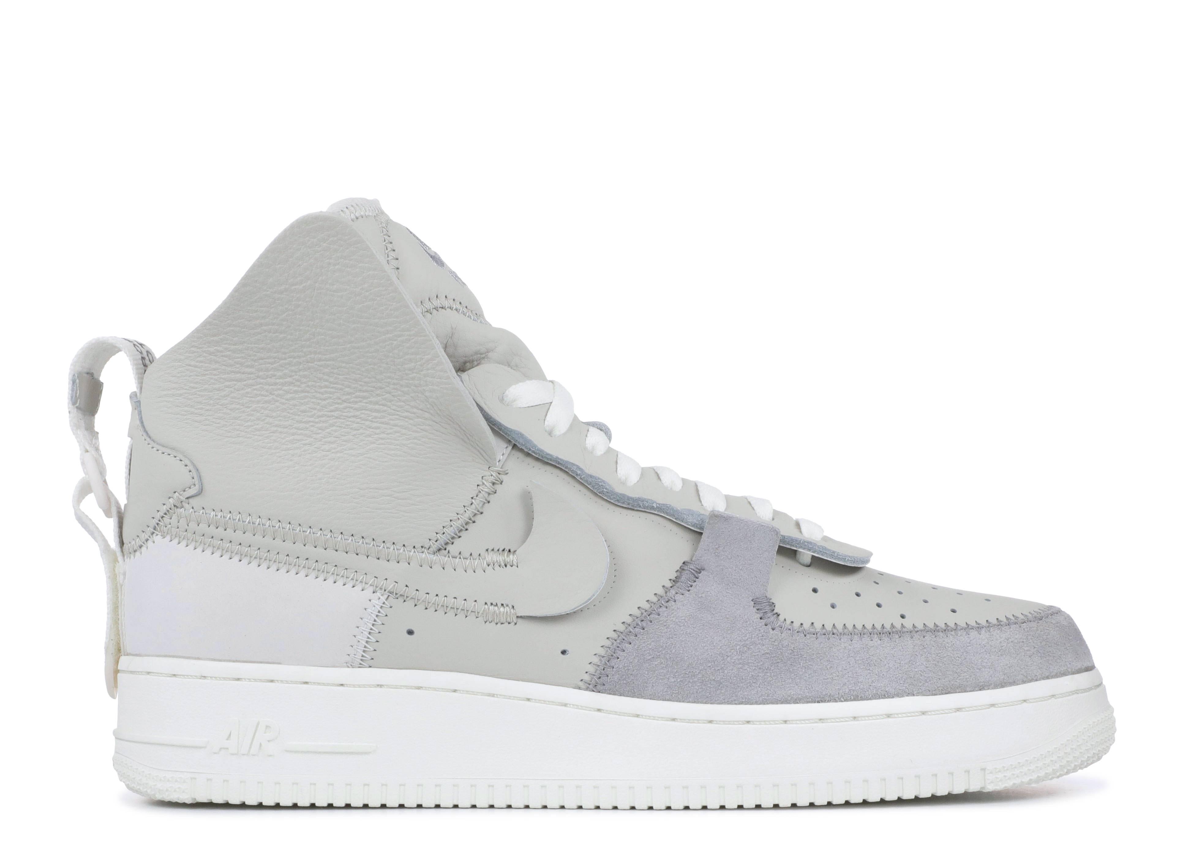 buy online bd9bf ae18f Air Force 1 High PSNY - Nike - AO9292 001 - matte silver light  bone-sail-white   Flight Club