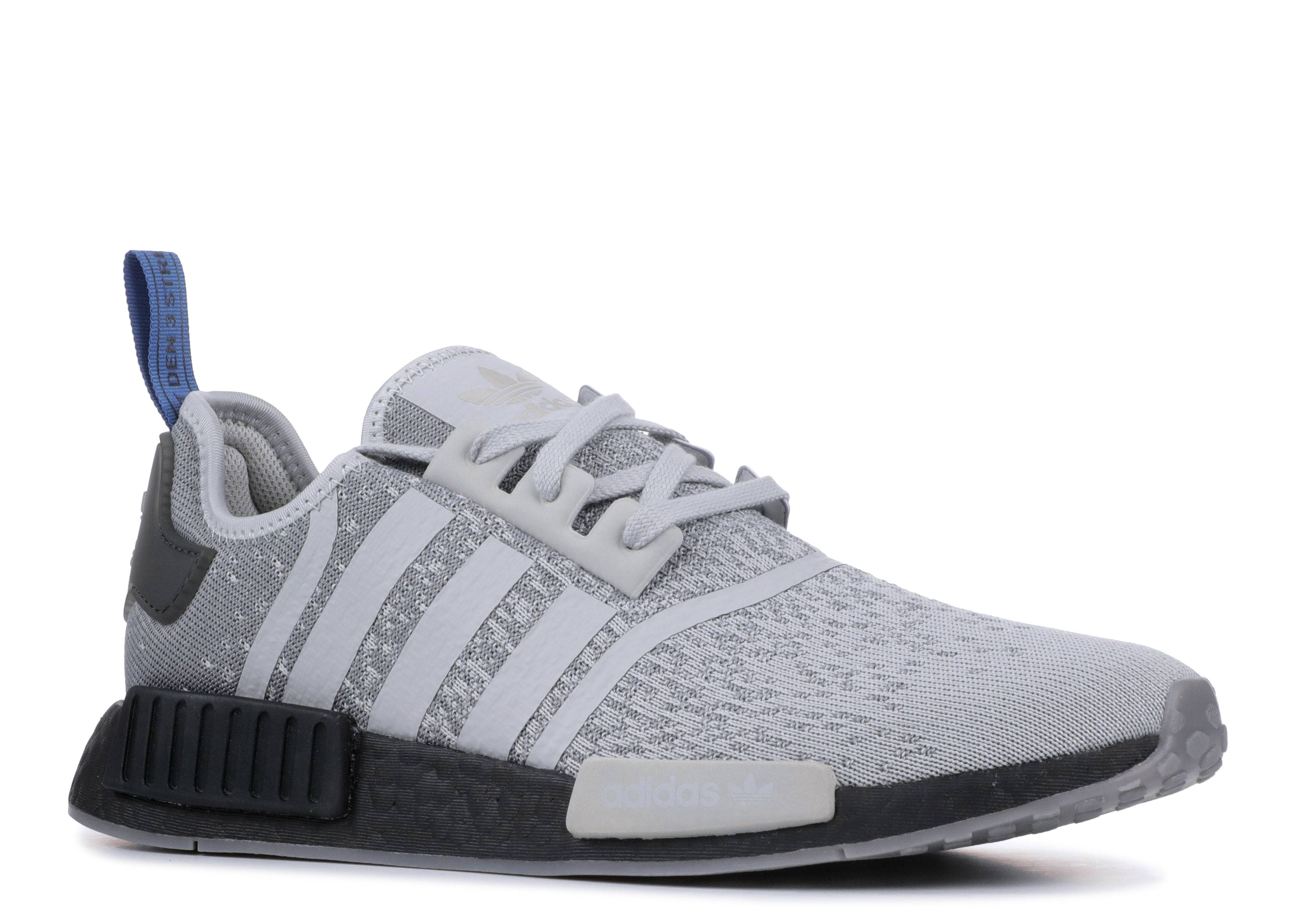 release date be92c c9bbc JD Sports X NMD_R1 'Silver Black Royal'