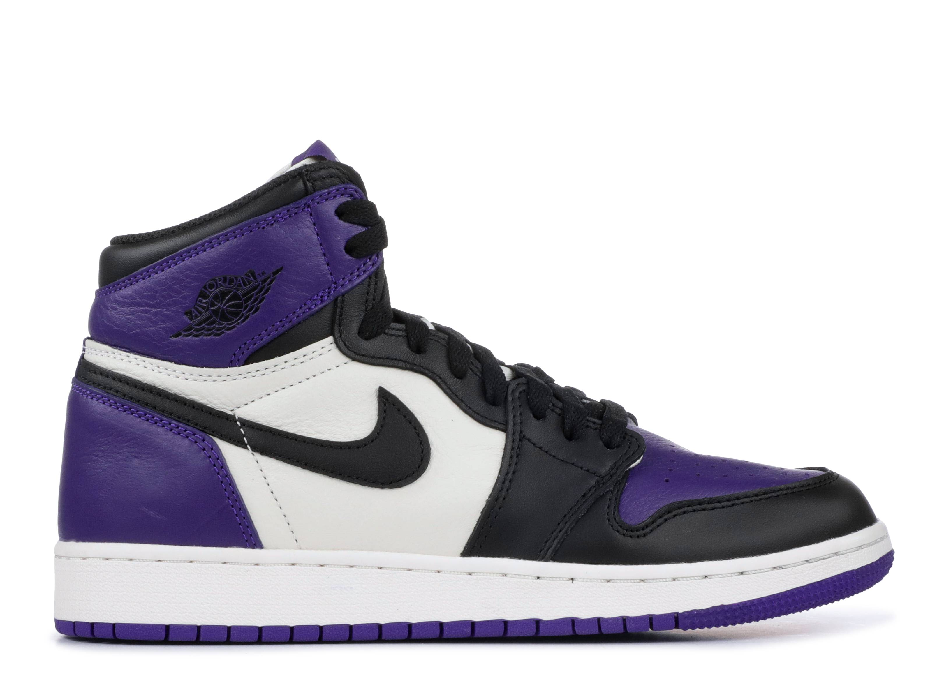 "air jordan 1 retro high og gs ""court purple"""