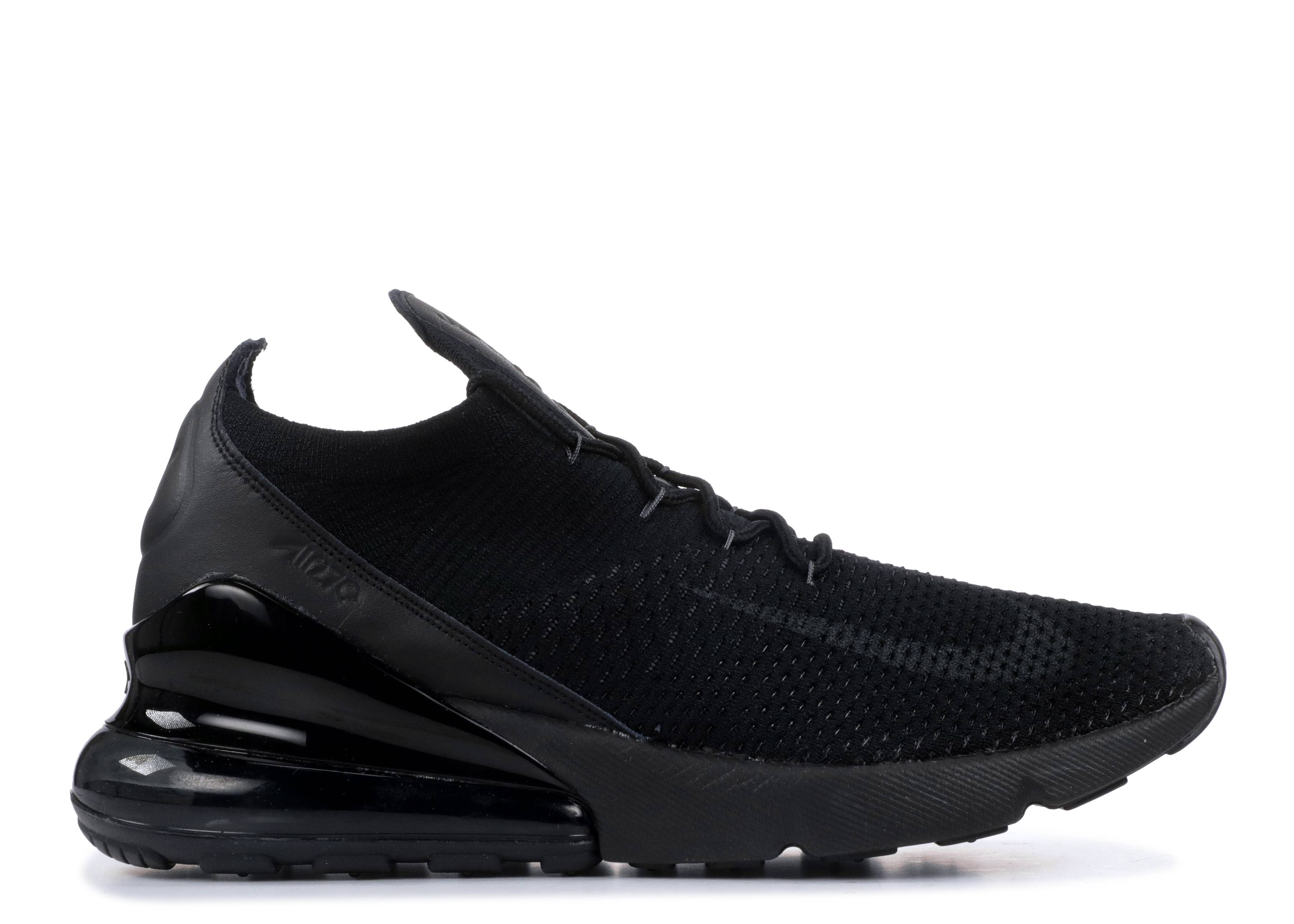 f1ca60d41818 Air Max 270 Flyknit - Nike - ao1023 005 - black anthracite-black ...