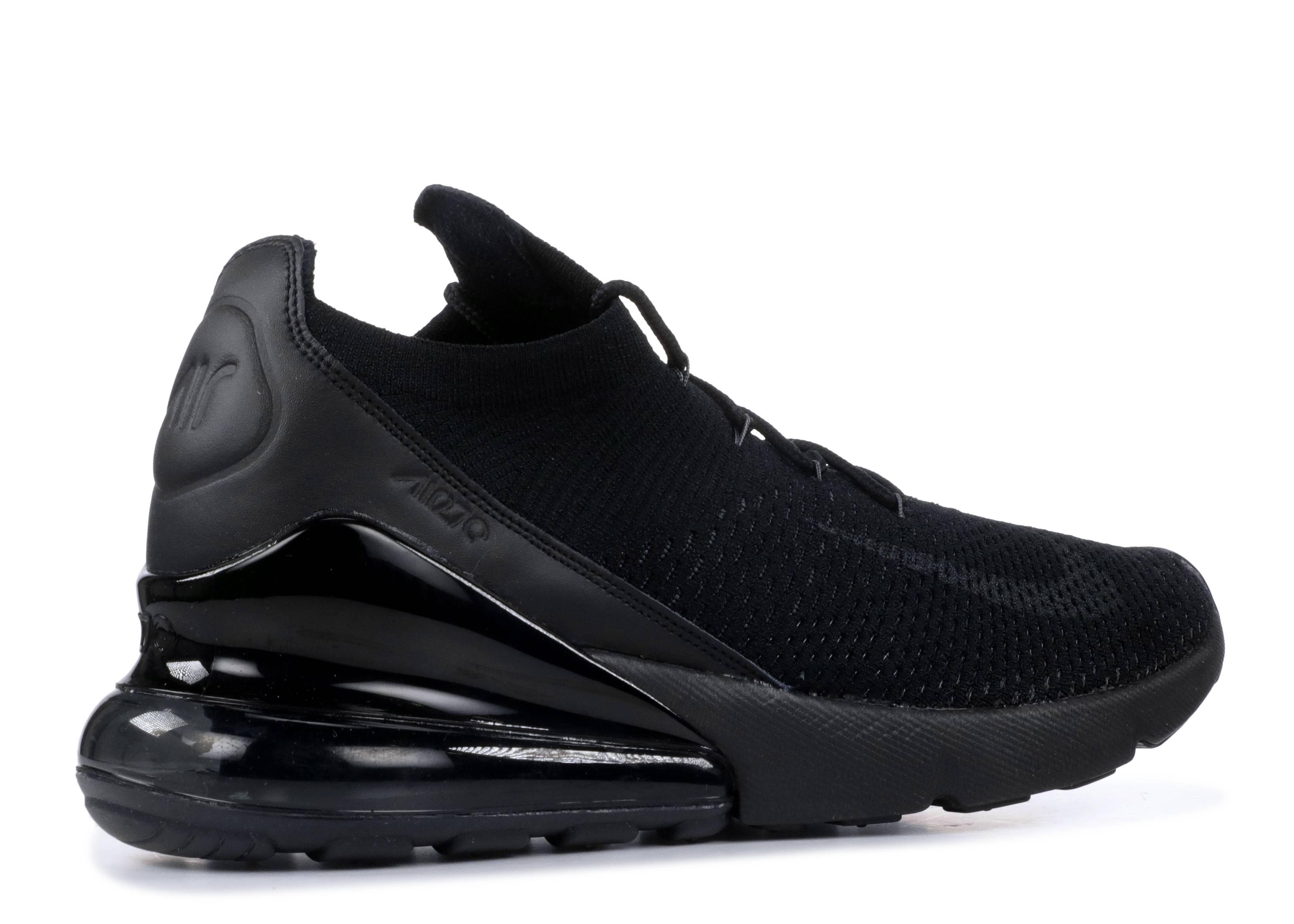 b7d940b676eb Air Max 270 Flyknit - Nike - ao1023 005 - black anthracite-black ...