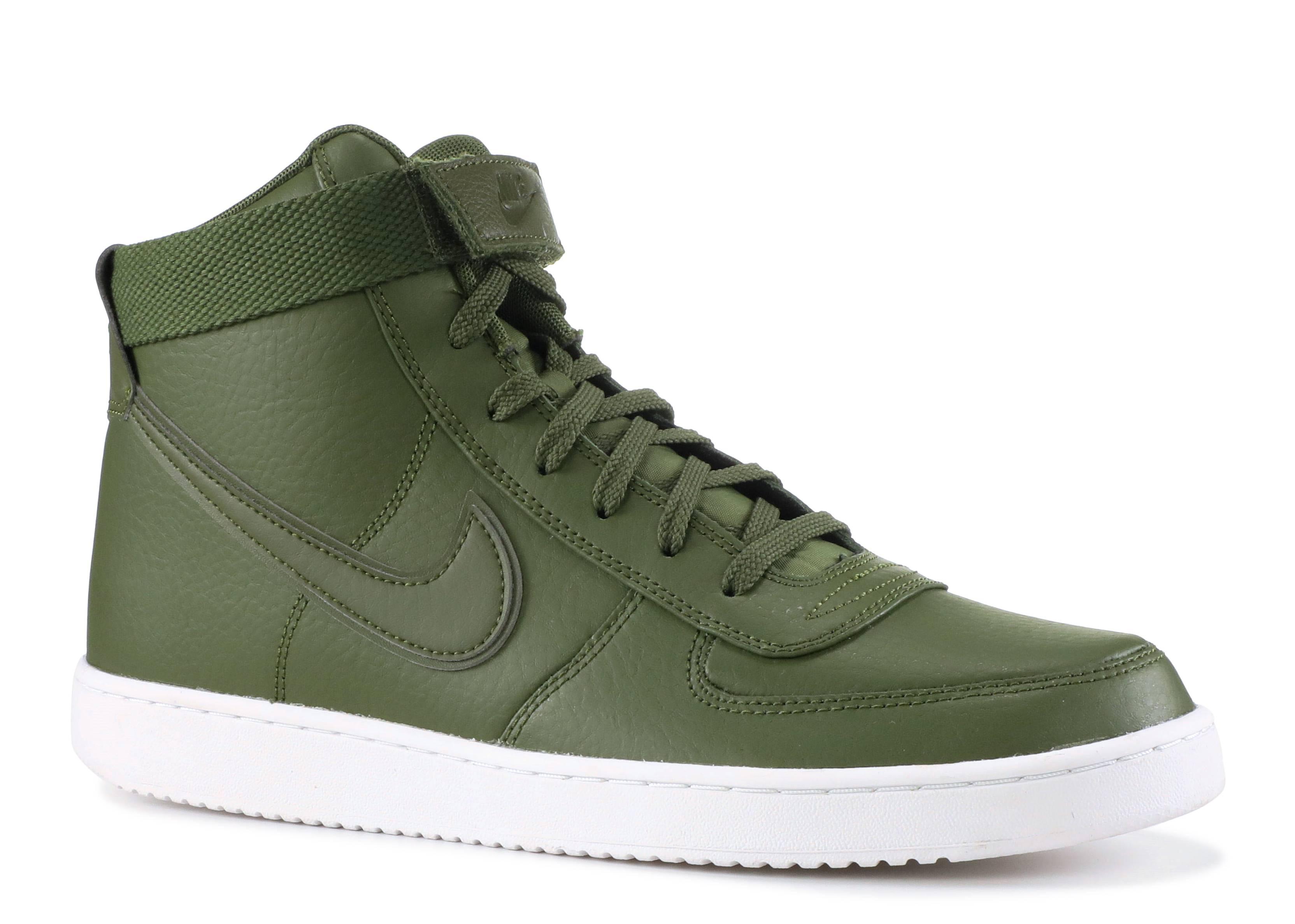 best service 536ab 9fcd3 Vandal High Supreme Ltr - Nike - ah8518 300 - legion greenlegion green   Flight Club