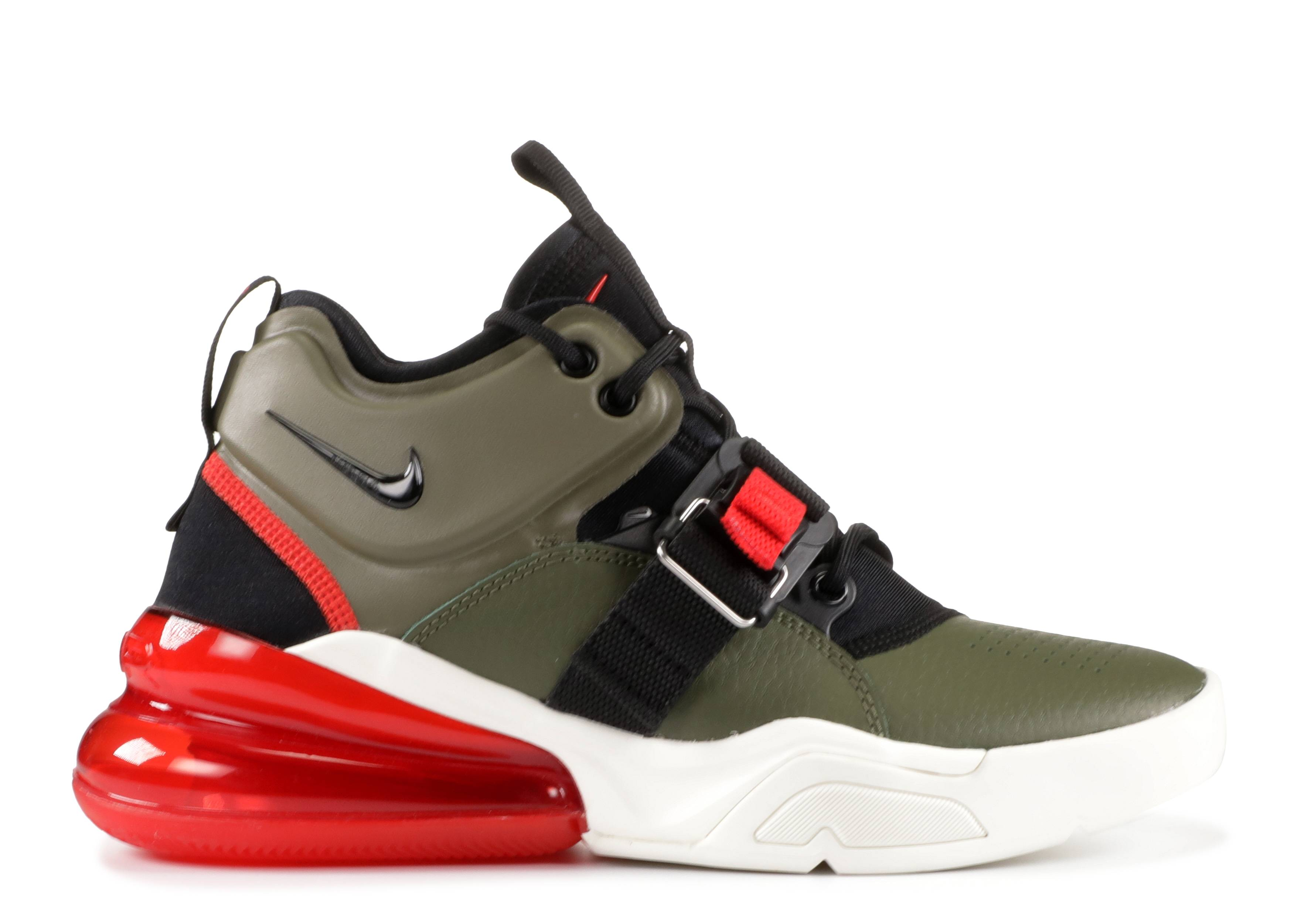 09e3c64dfa Nike Air Force 270 - Nike - aj8208 200 - medium olive/black | Flight Club