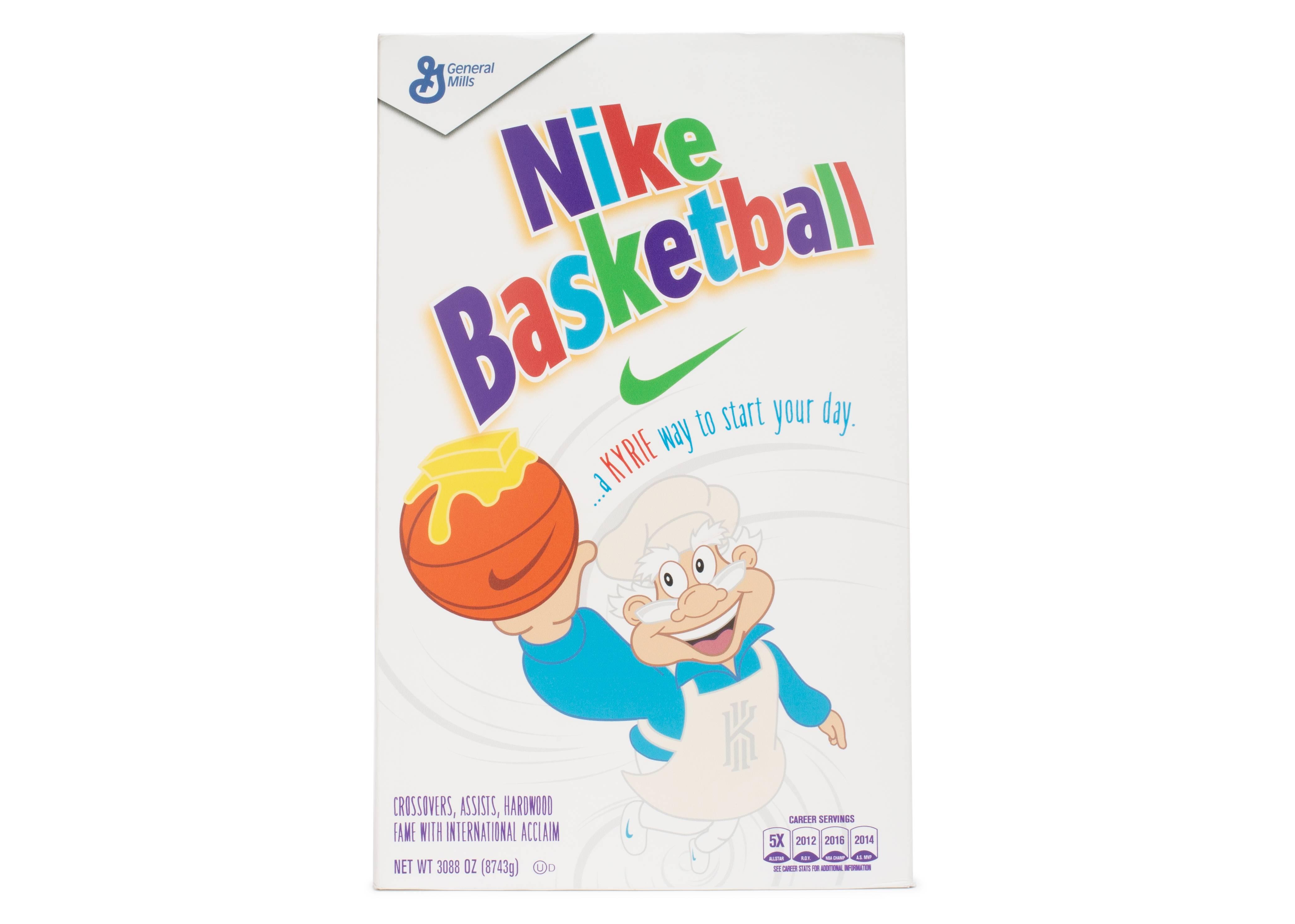 "Kyrie 4 ""cinnamon Toast Crunch special Box "" Nike bv0426 900 sb"