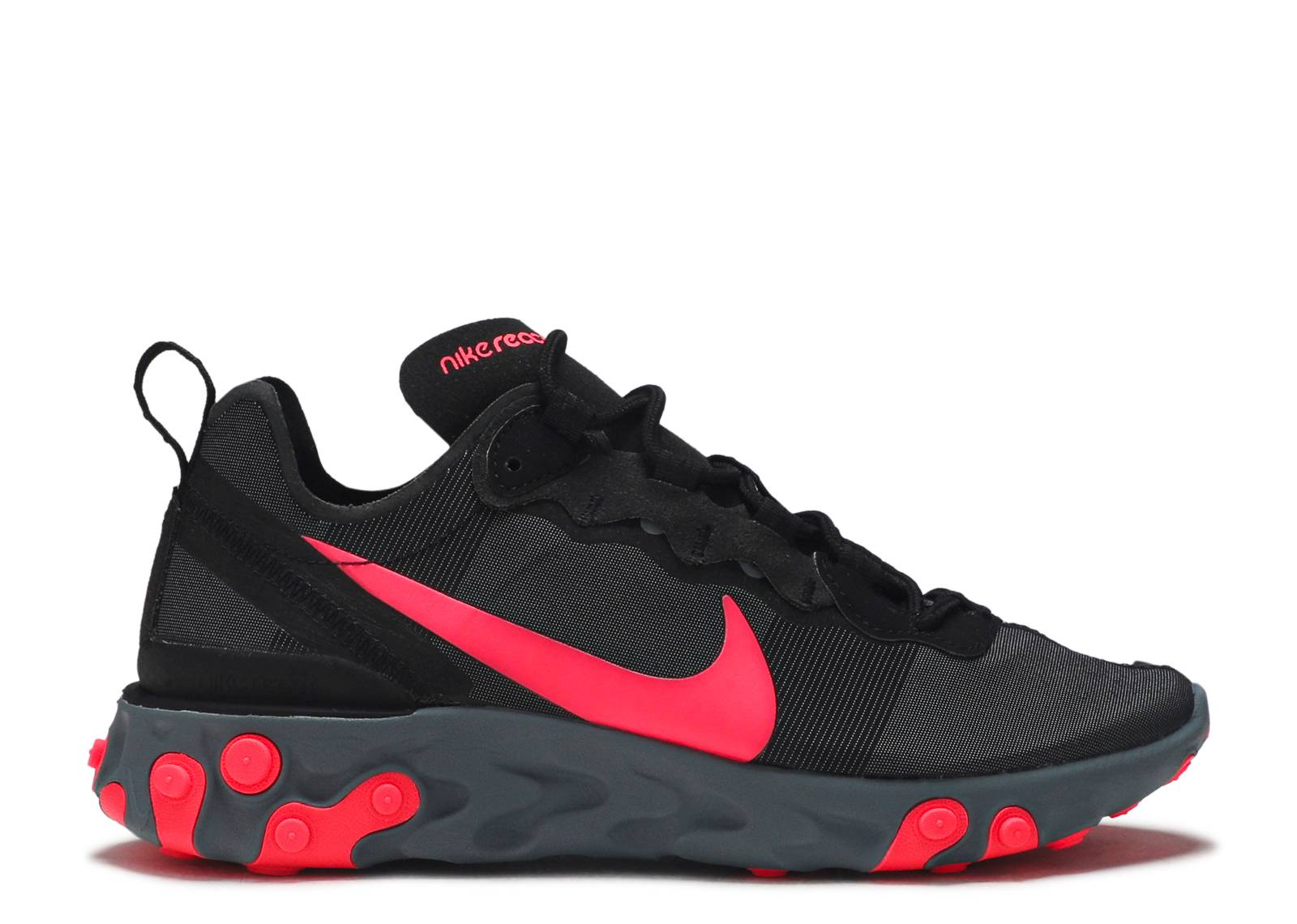 "w nike react element 55 ""solar red"""