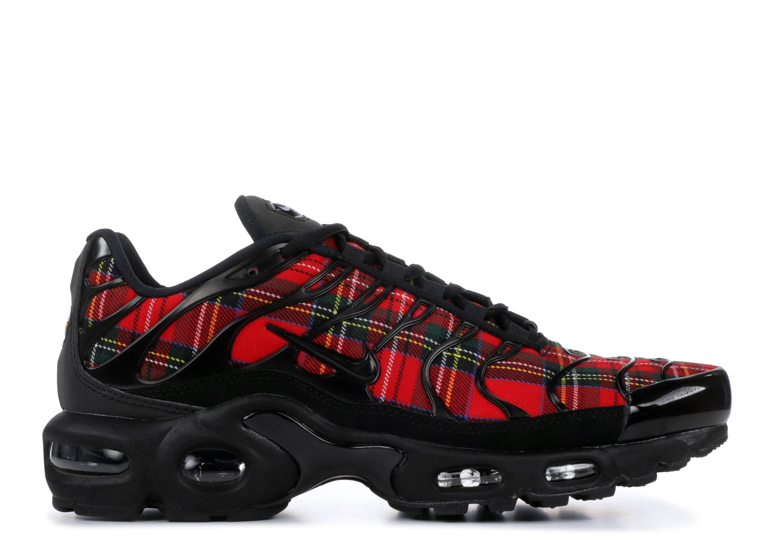 Wmns Air Max Plus Tn Se Tartan - Nike - av9955 001 - black/black ...