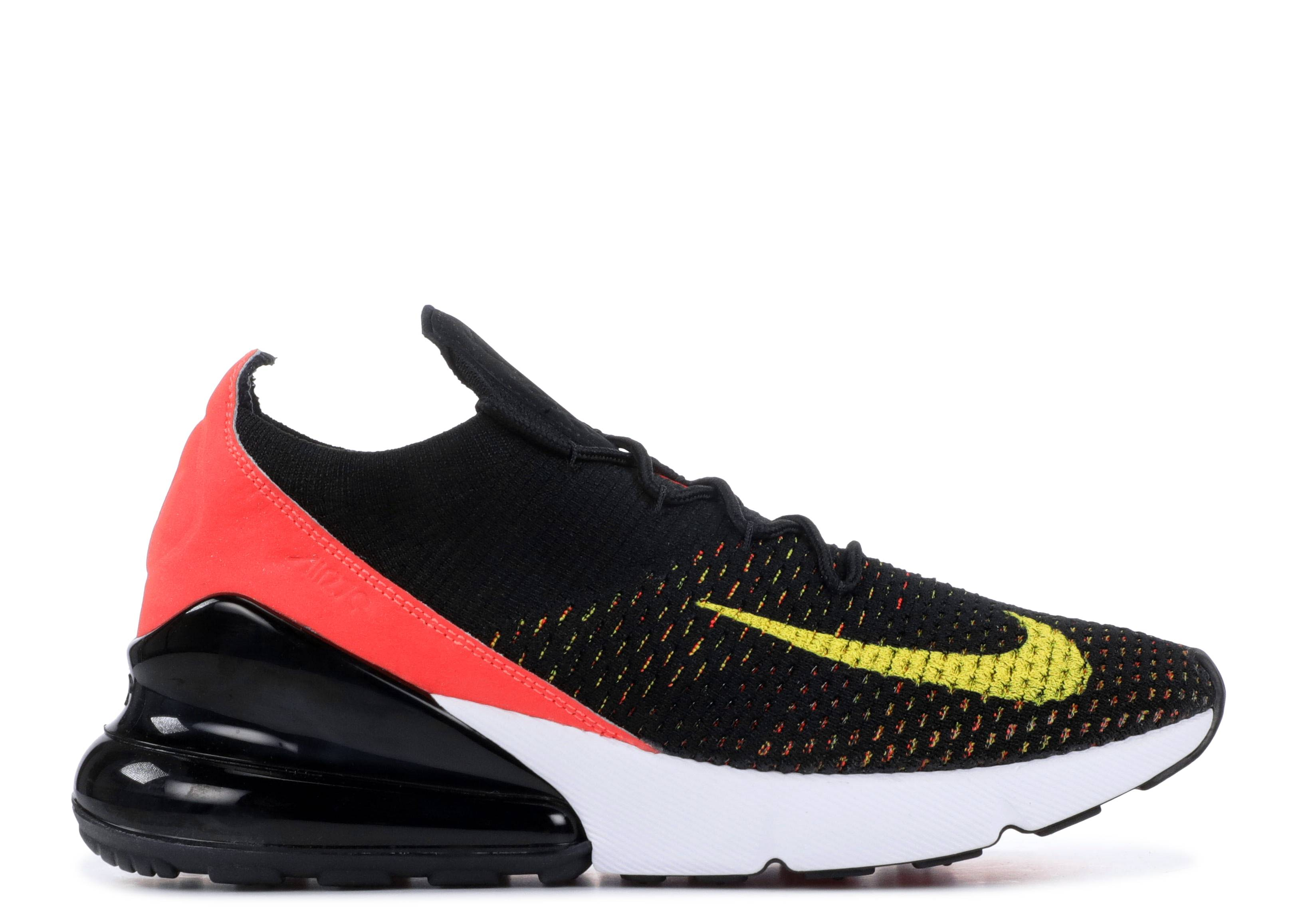 a62f4175d0 W Air Max 270 Flyknit - Nike - ah6803 003 - black/yellow strike ...