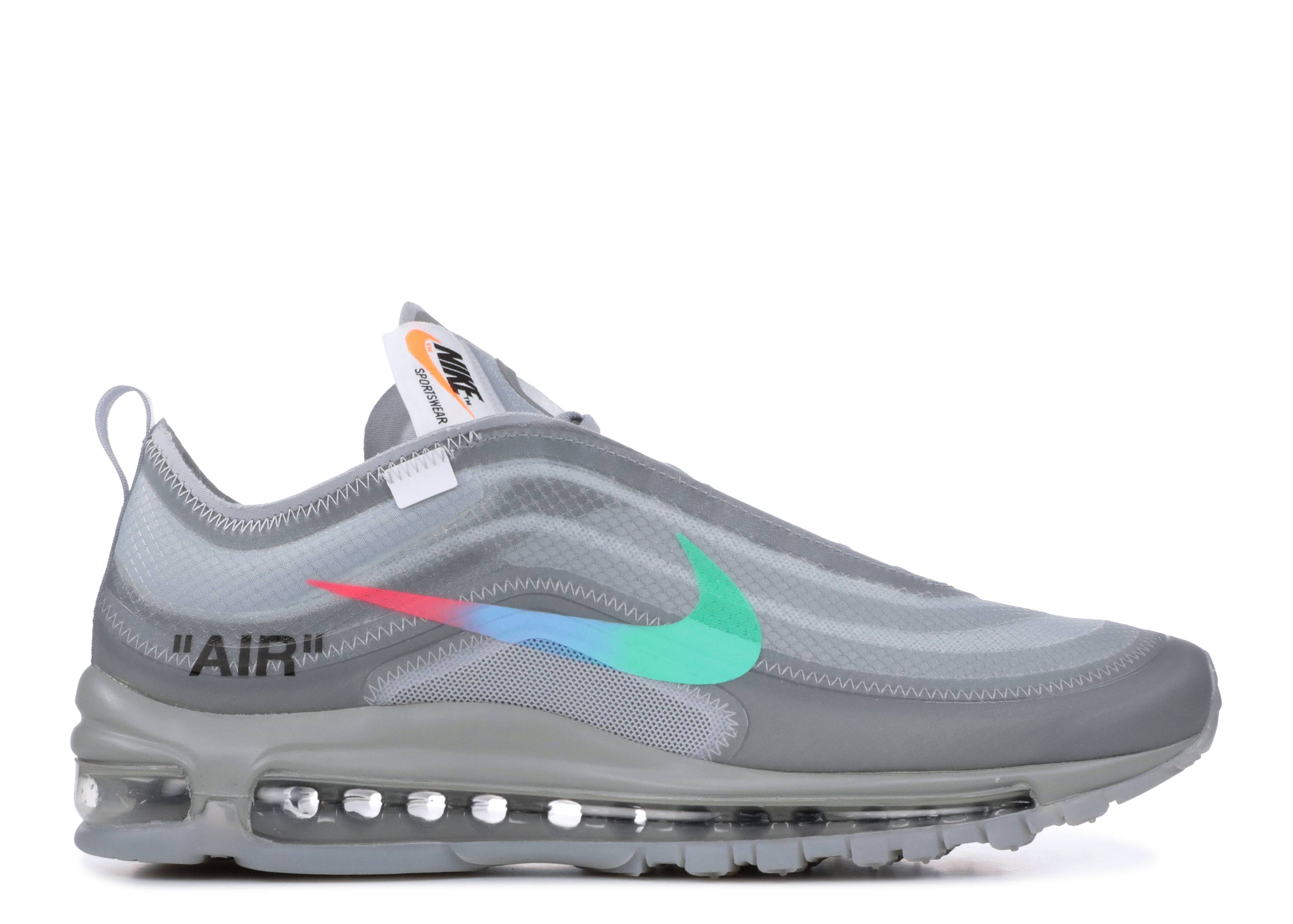 "the 10 : nike air max 97 og ""off white"""
