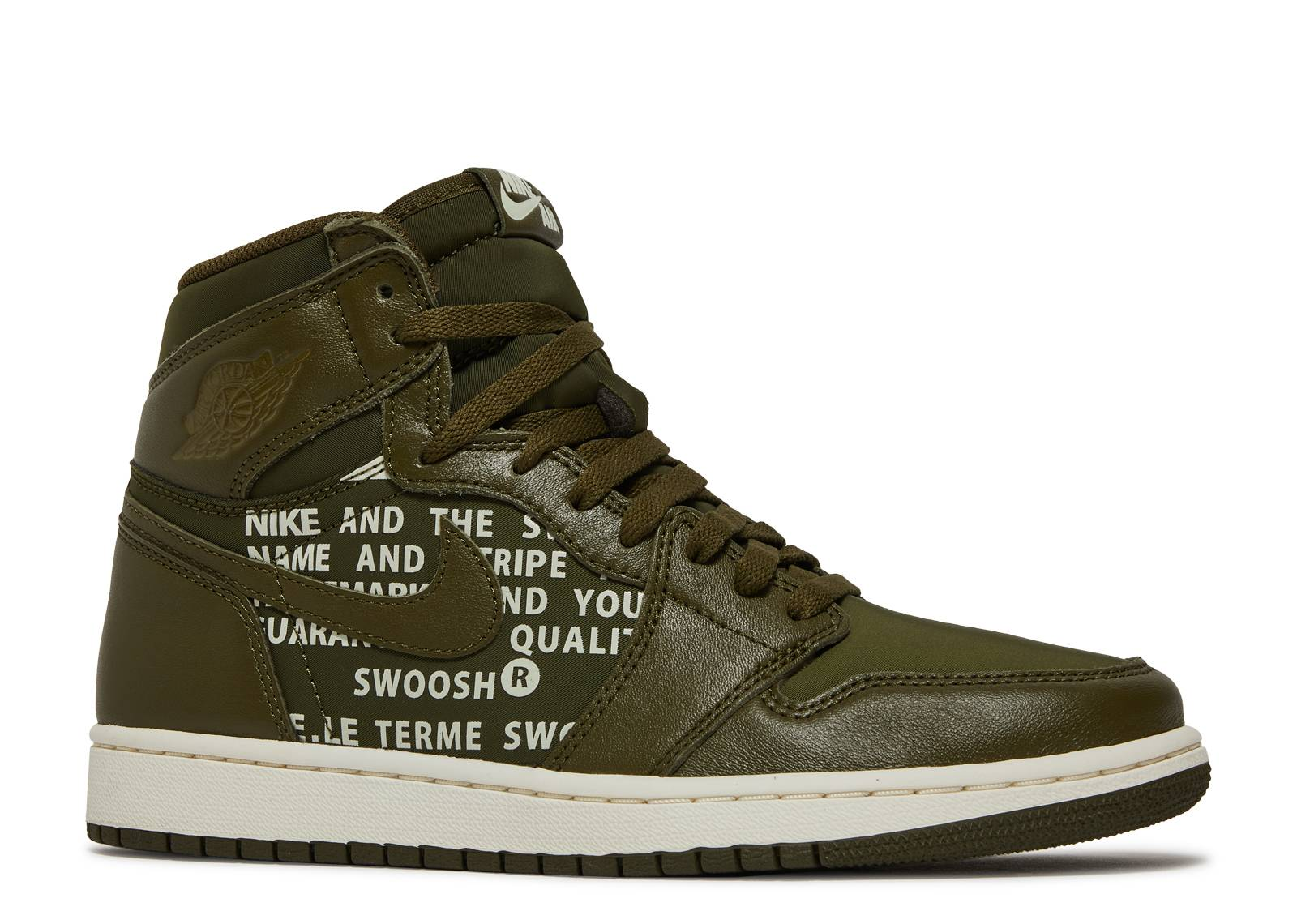 Air Jordan 1 High OG 'Olive Canvas'