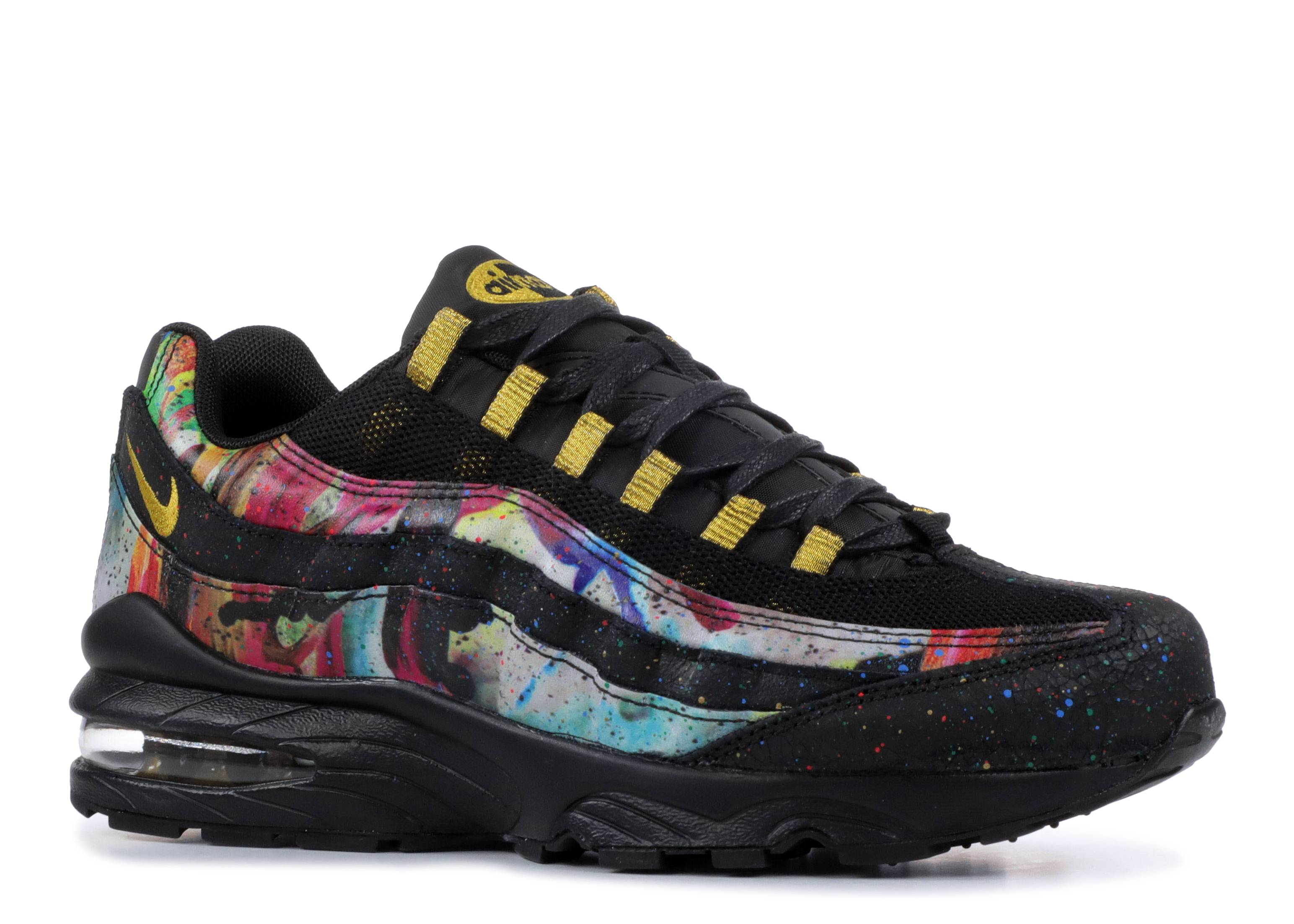 Air Max 95(gs) caribana Nike at6158 001 black
