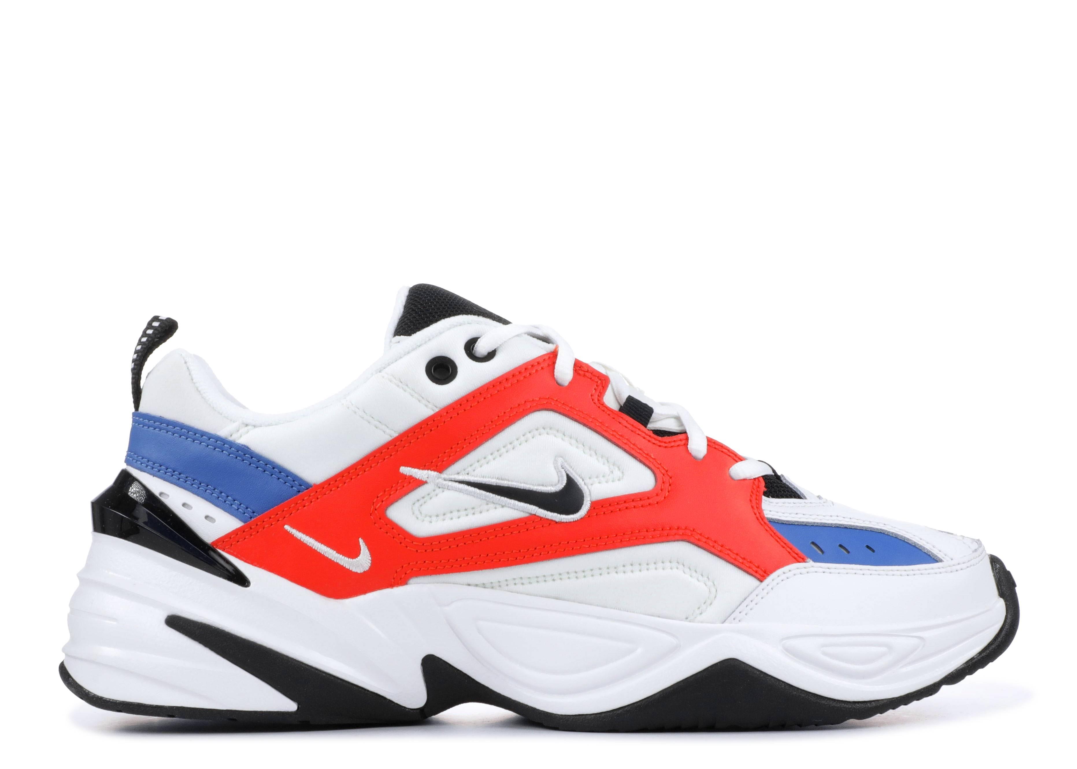 official photos e7744 740a8 Nike M2k Tekno - Nike - av4789 100 - summit white black-team orange ...