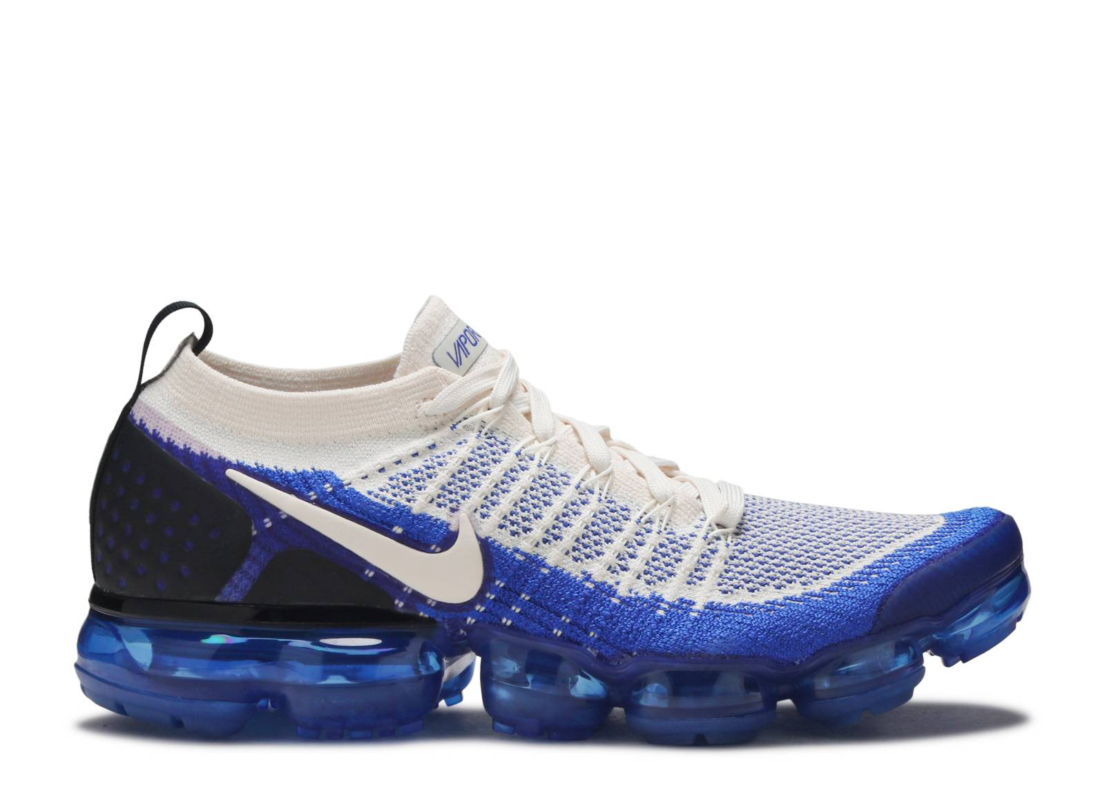 213c615555 nike vapormax flyknit 2 in cream and racer blue
