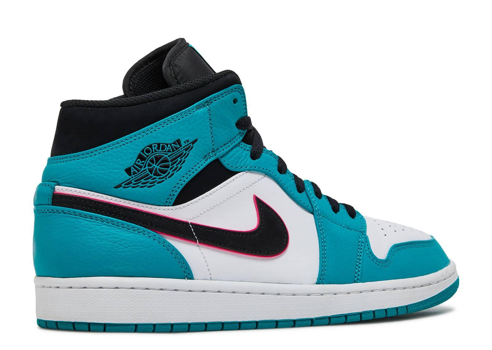 d9b3cf60f1b Air Jordan 1 Mid Se - Air Jordan - 852542 306 - turbo green black-hyper  pink
