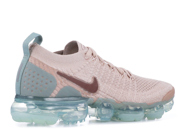 Nike Women's Air VaporMax Flyknit 2 Particle BeigeSmokey