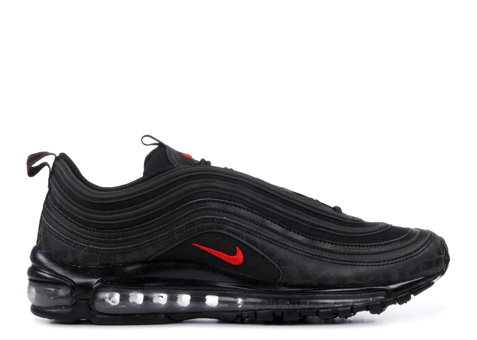 New Release Mens Nike Air Max 97 Shoes BlackUniversity Red Black AR4259 001