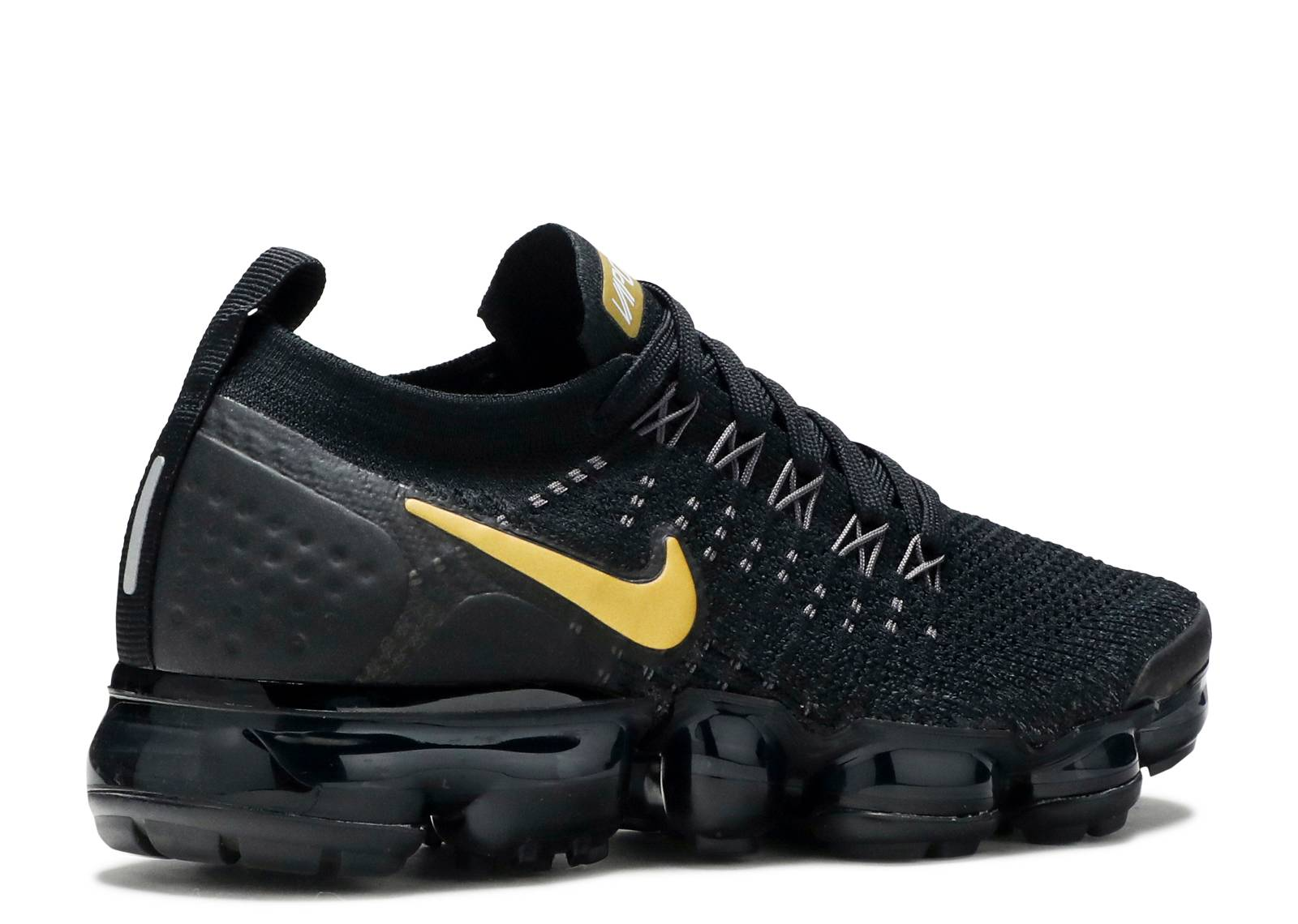 e2b5c4064982 W Nike Air Vapormax Flyknit 2 - Nike - 942843 012 - black metallic gold