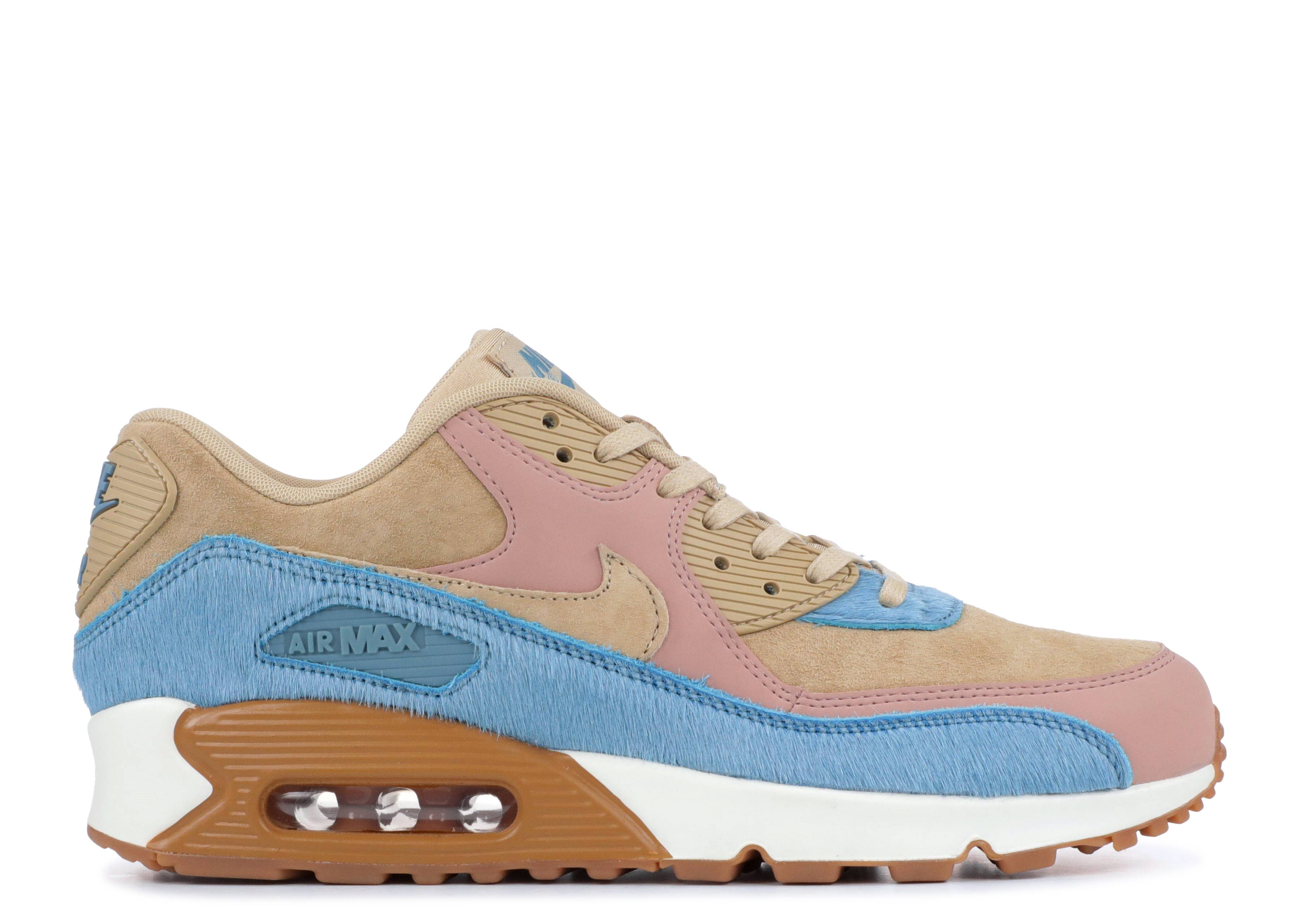 "wmns air max 90 lx ""Embossed Pony Fur"""