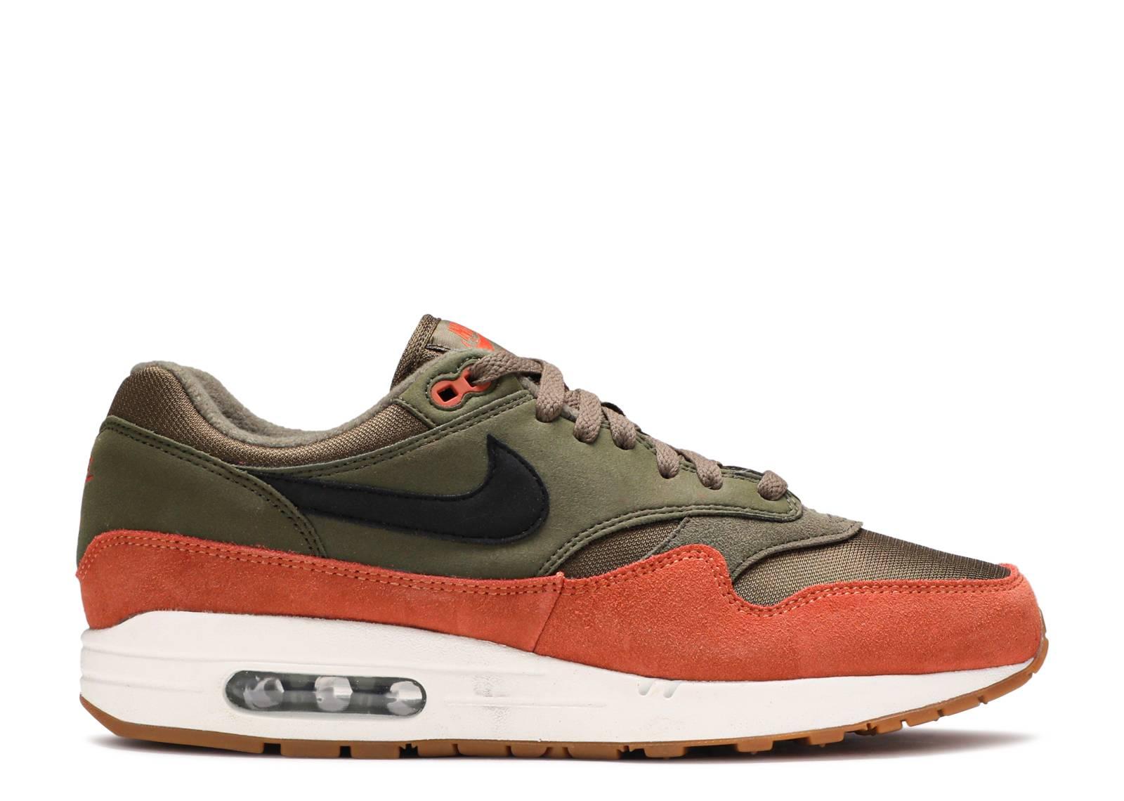 pretty nice 92684 4623d Nike Air Max 1 - Nike - ah8145 301 - olive canvasblack-dark