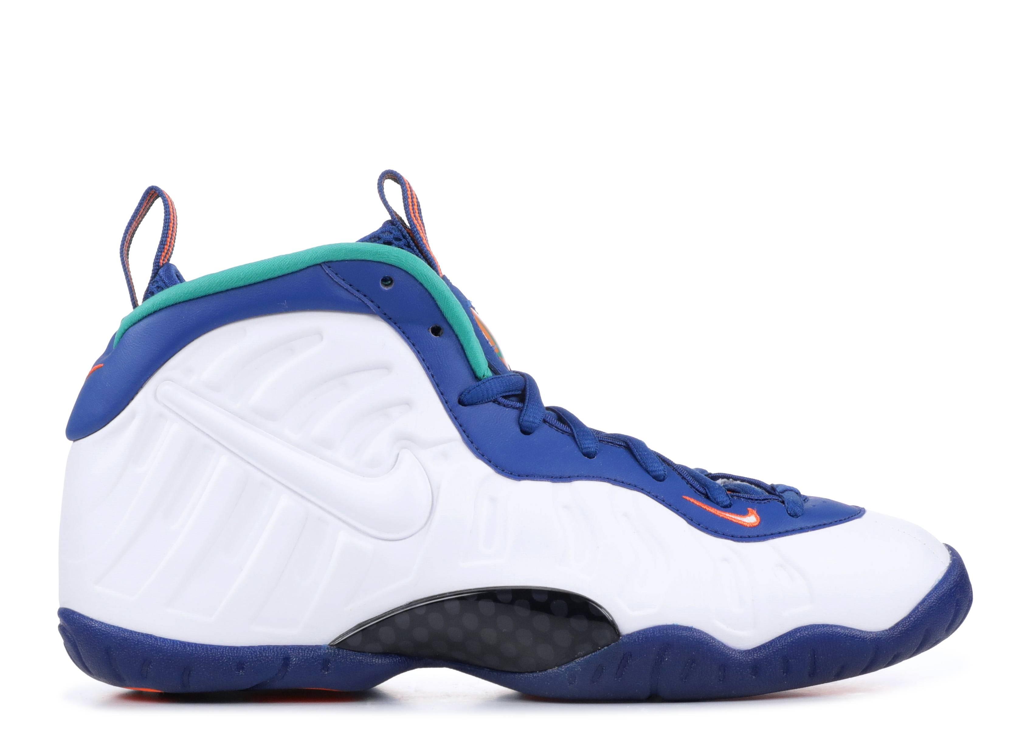 9fc699202f26 Nike Little Posite Pro (gs) - Nike - 644792 404 - gym blue white ...