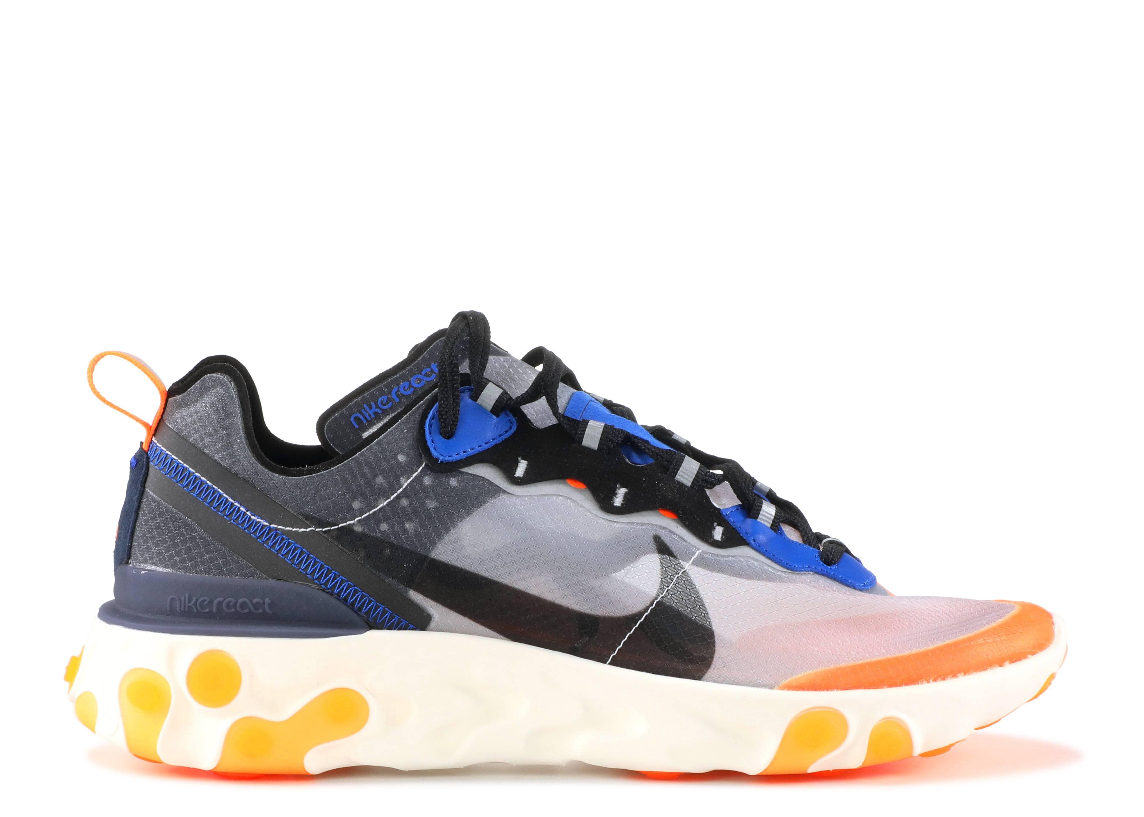 1a416101fef9 Nike React Element 87 - Nike - aq1090 004 - wolf grey black-thunder ...
