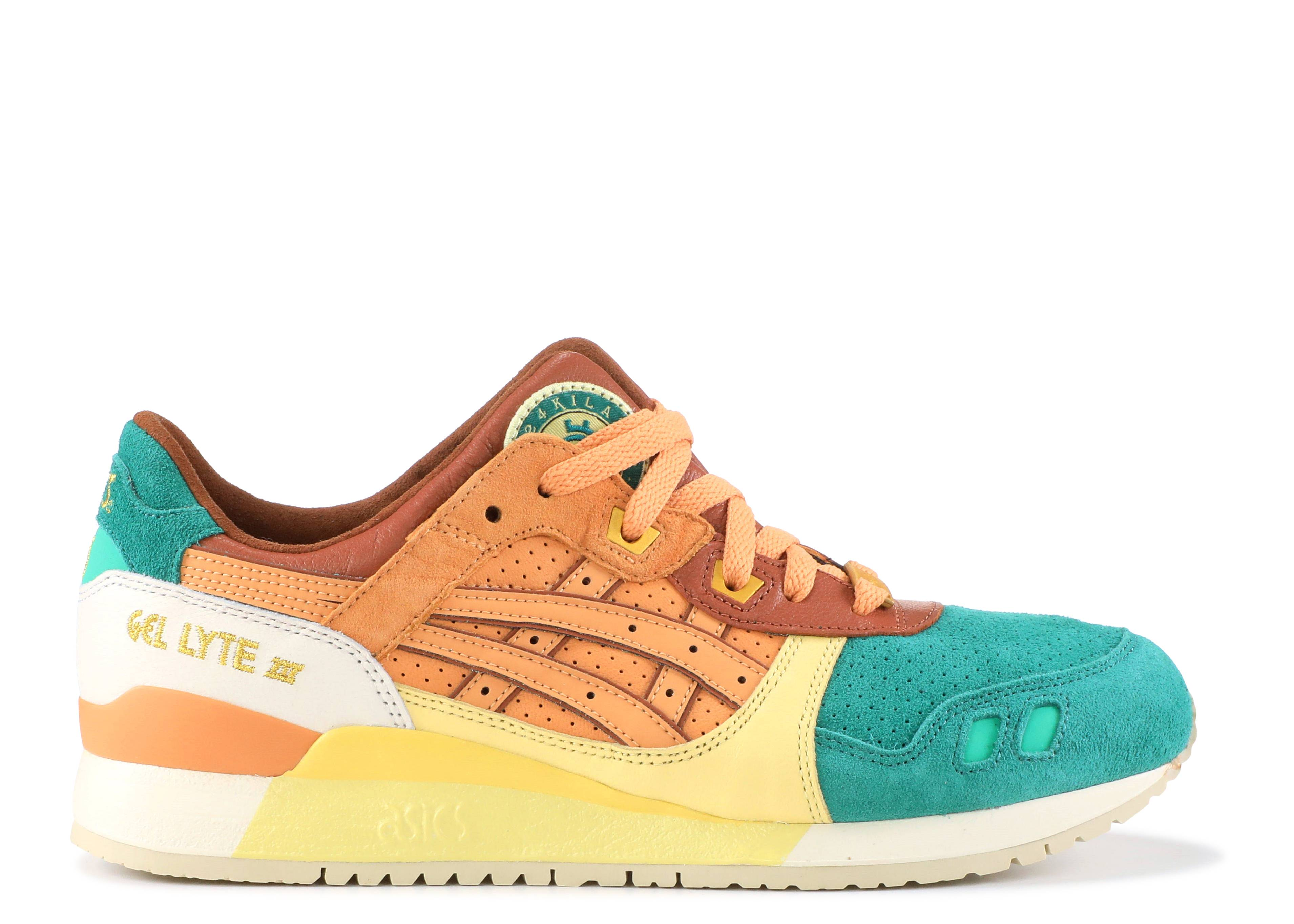 "Gel-Lyte III ""24 Kilates collaboration"""