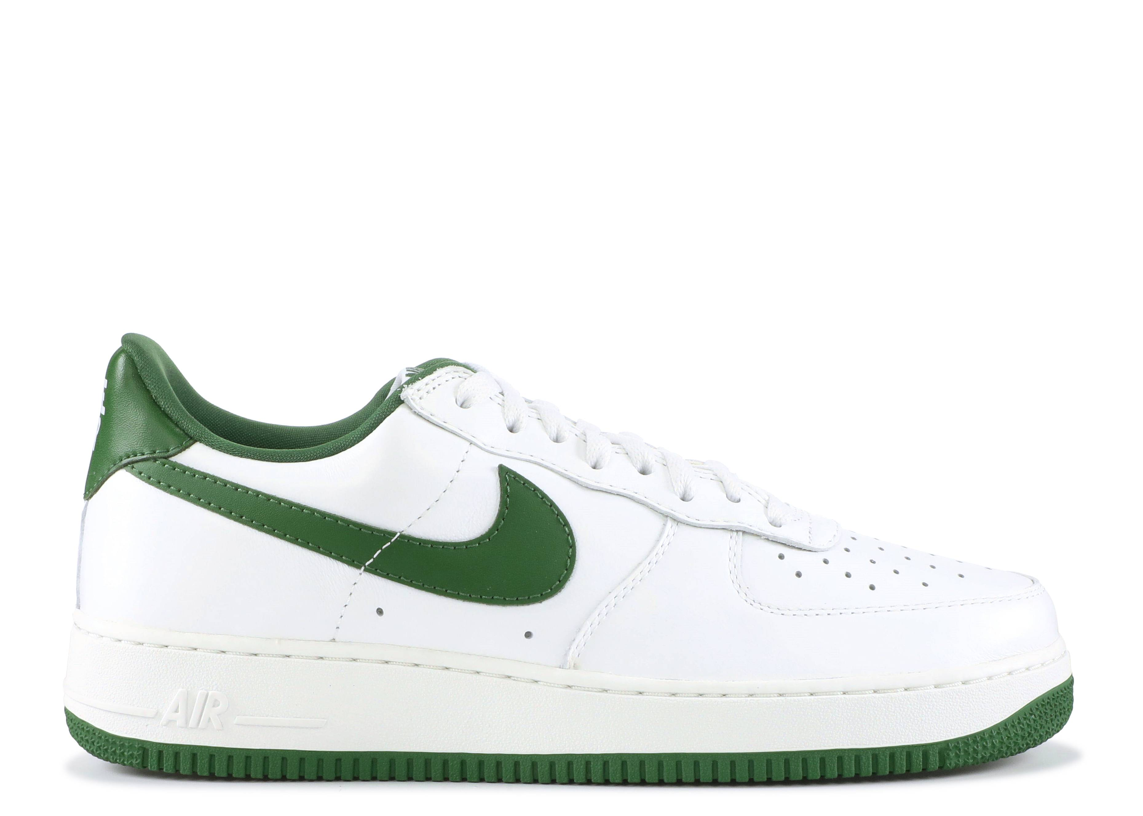 Unusual Nike Air Force 1 Low Retro + Summit White Forest