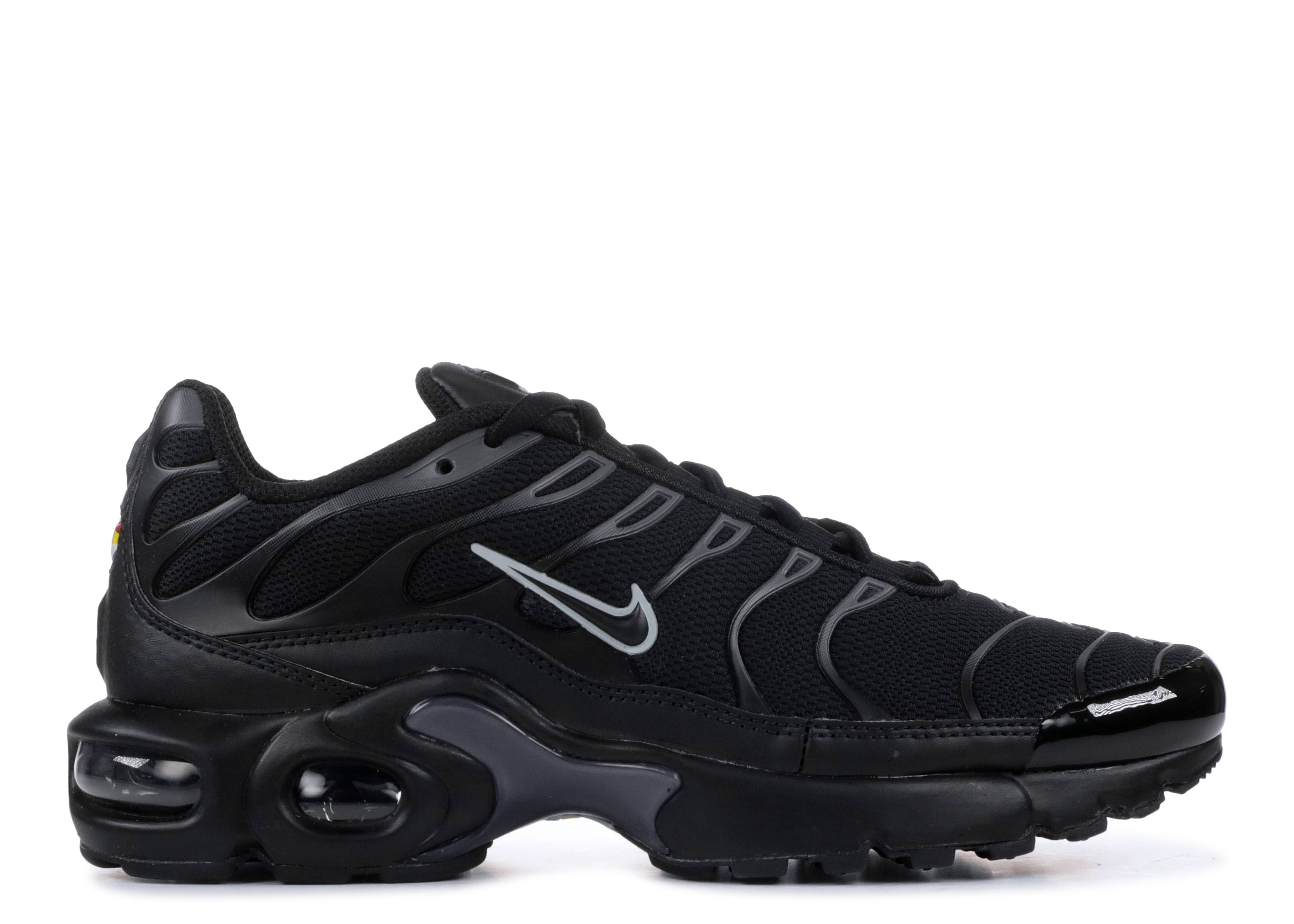 "air max plus (gs) ""Black Pure Platinum"""
