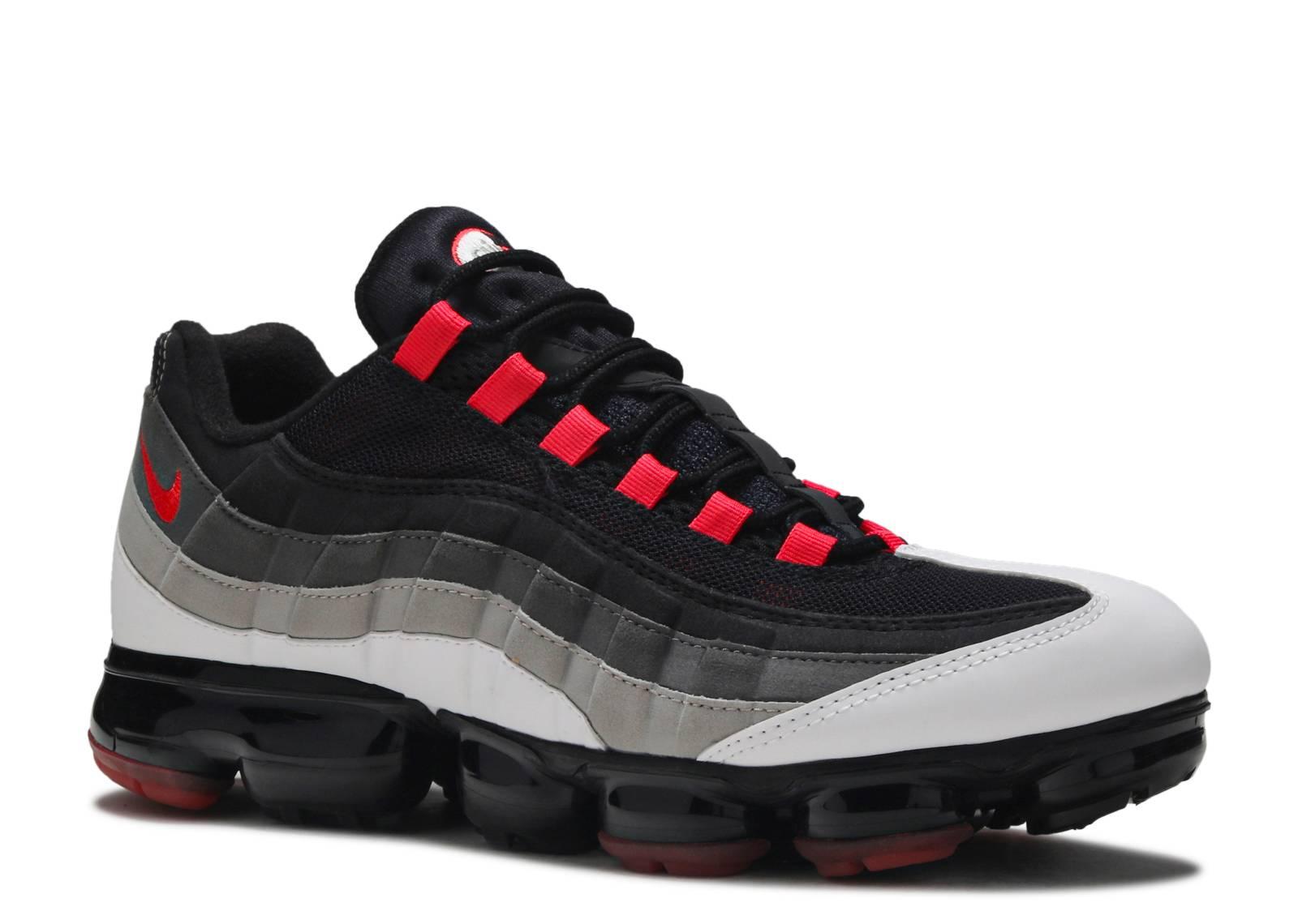 ddb8801a8db1 Air Vapormax  95 - Nike - aj7292 101 - white hot red-dk pewter