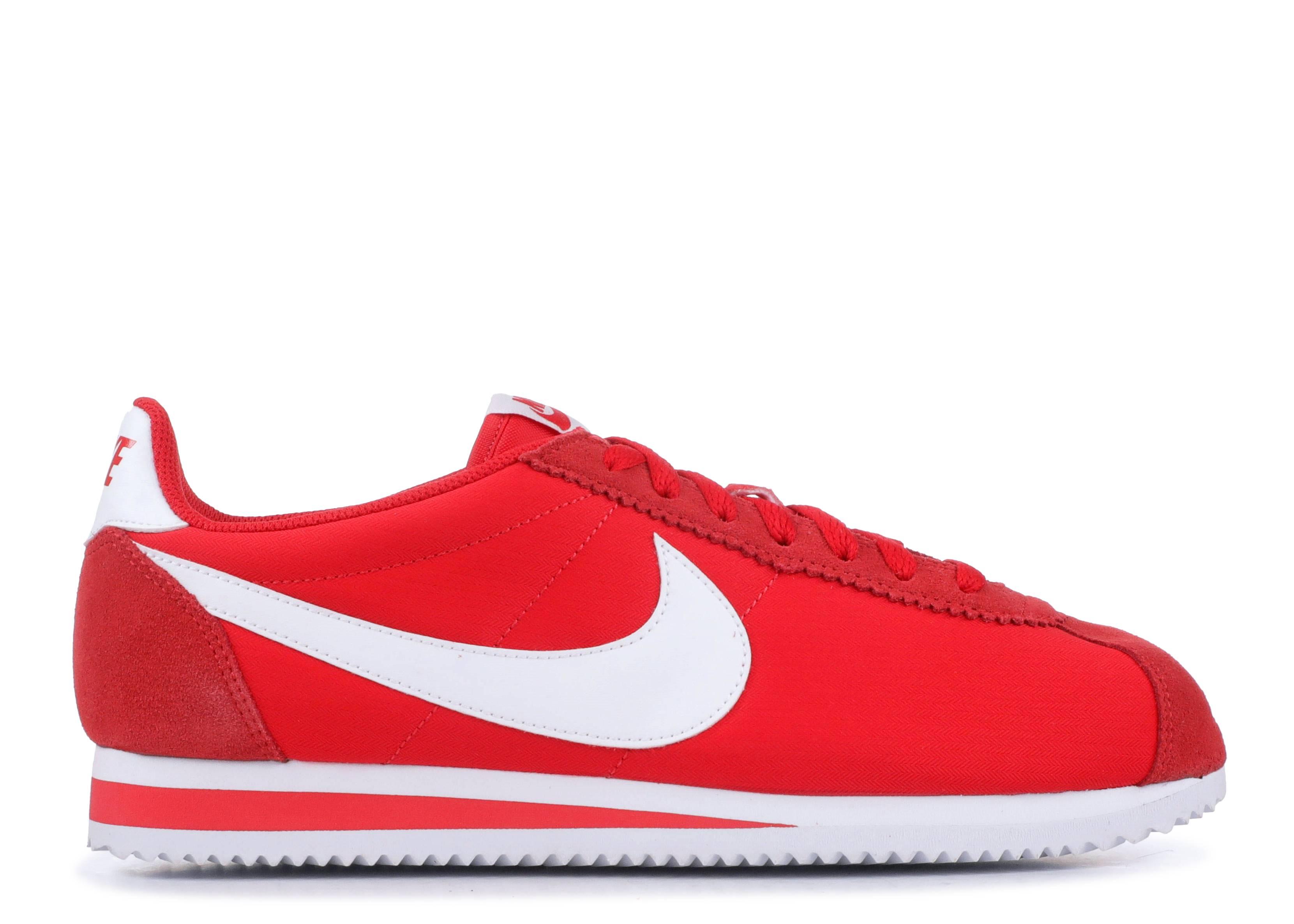 half off de01c 63635 Classic Cortez Nylon - Nike - 807472 604 - university red ...