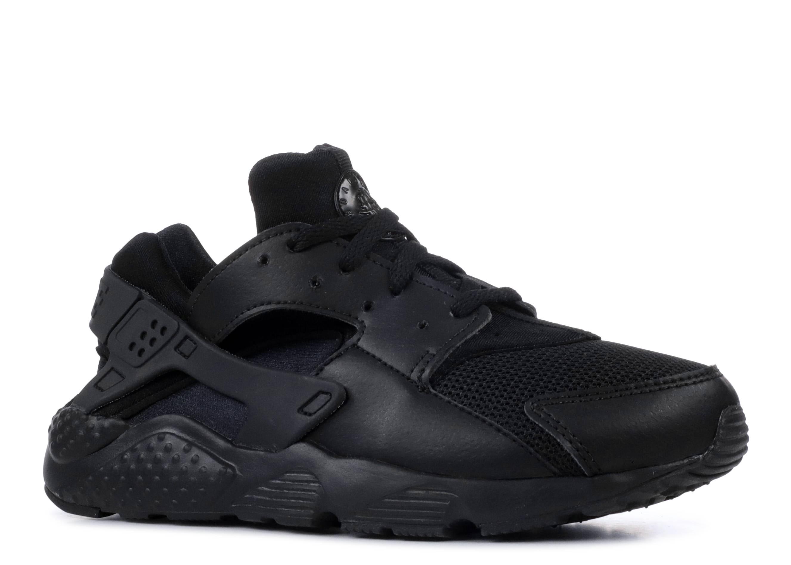 af6b0ab7cb0 Nike Huarache Run Ps - Nike - 704949 016 - black-black-black ...